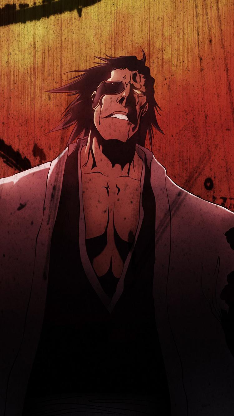 750x1334 Anime Bleach Kenpachi Zaraki Iphone 6 Iphone 6s Iphone