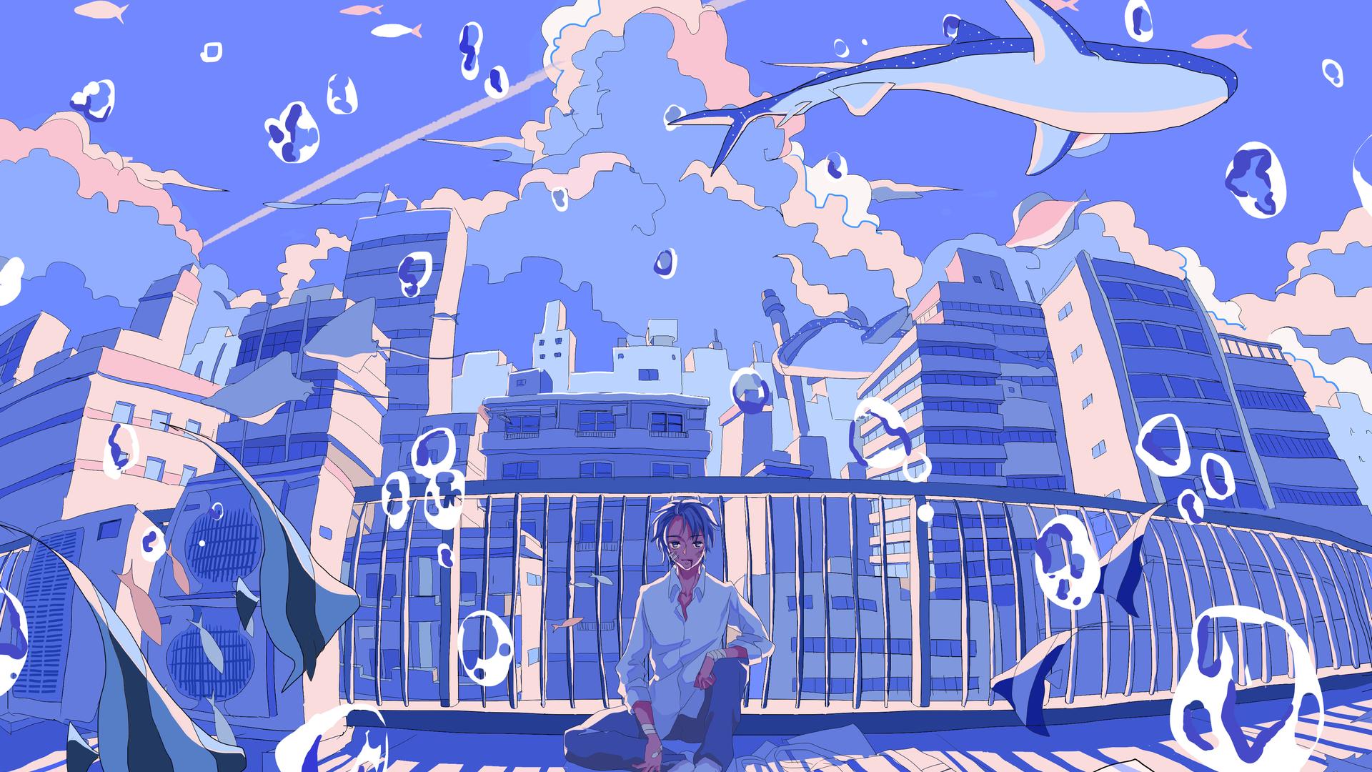 1920x1080 Anime Boy Lost In Dreams 4k Laptop Full HD 1080P ...