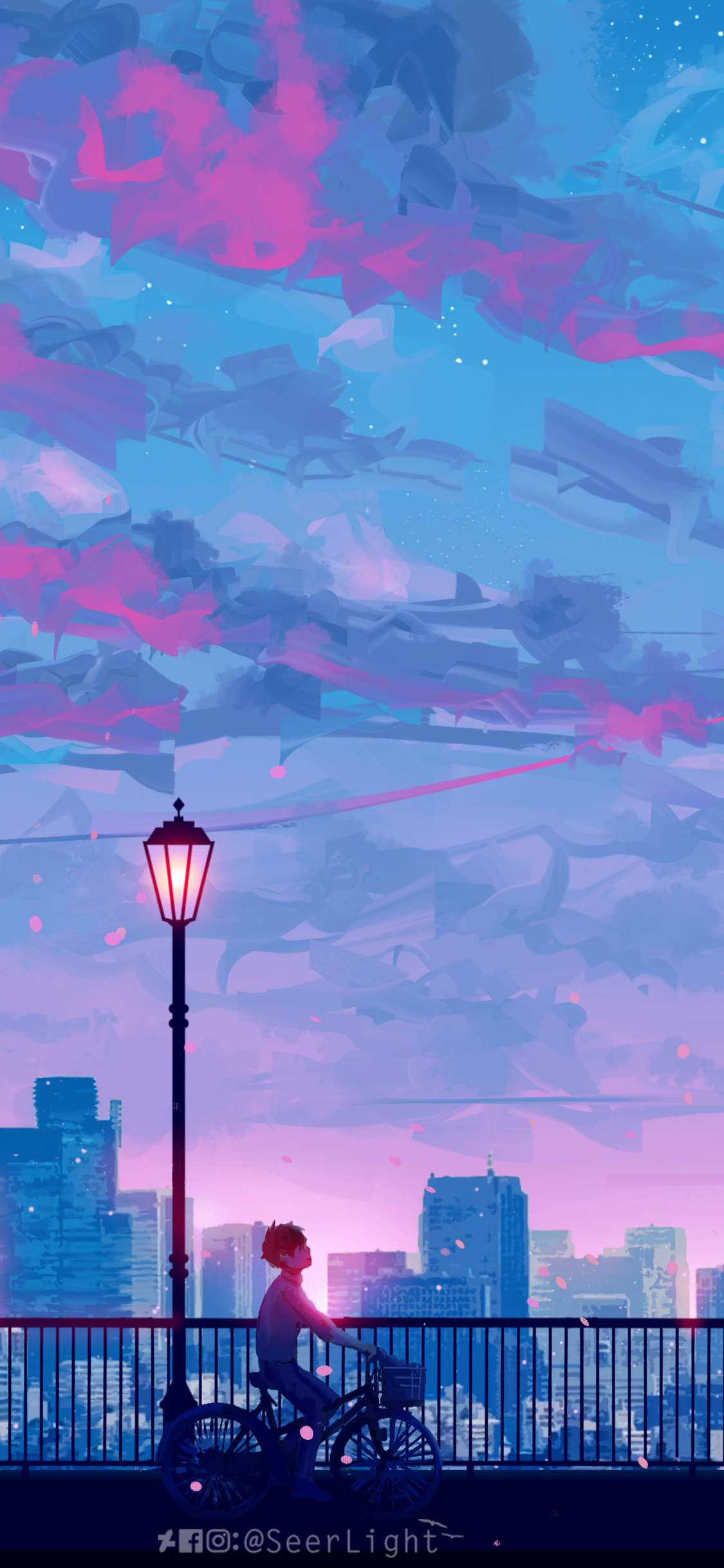 Anime Scenery Wallpaper 4k Phone Gambarku