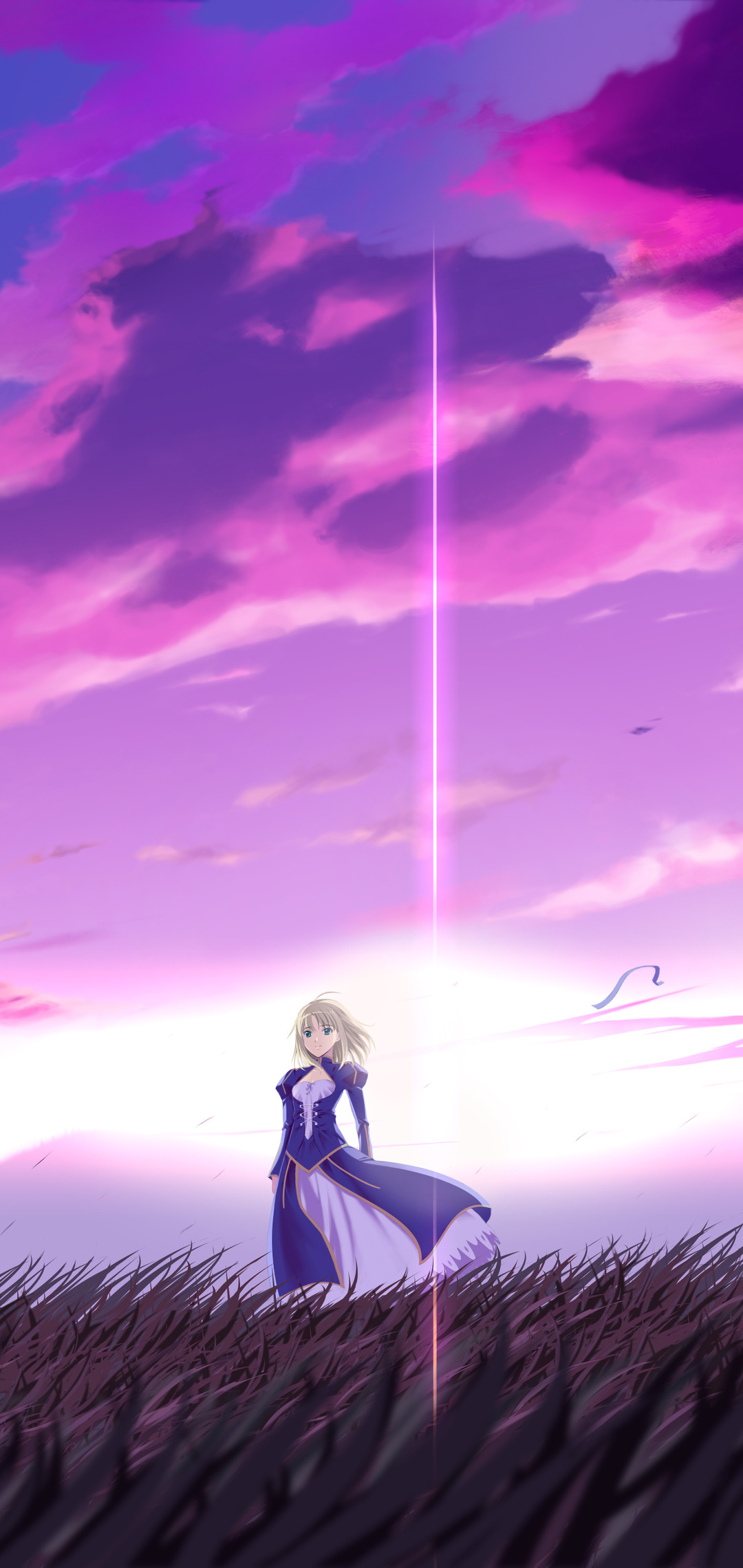 1080x2280 Anime Fate Stay Night 4k One Plus 6,Huawei p20 ...