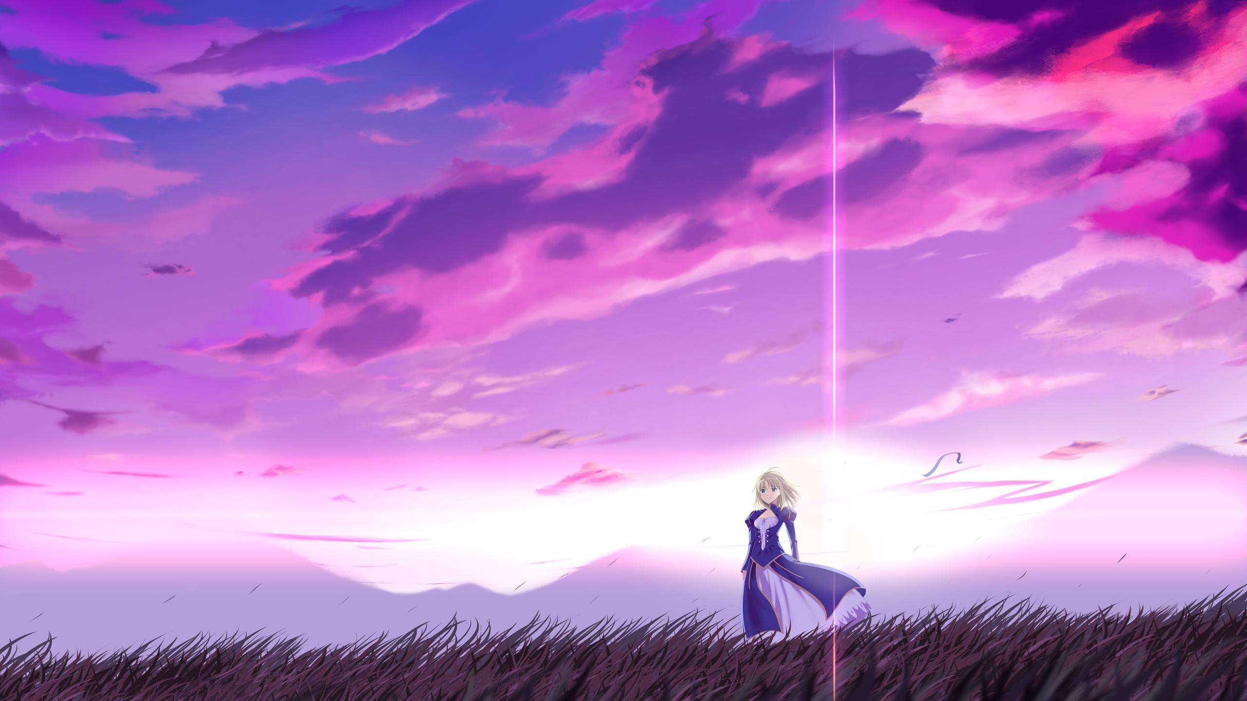 2560x1440 Anime Fate Stay Night 4k 1440P Resolution HD 4k ...