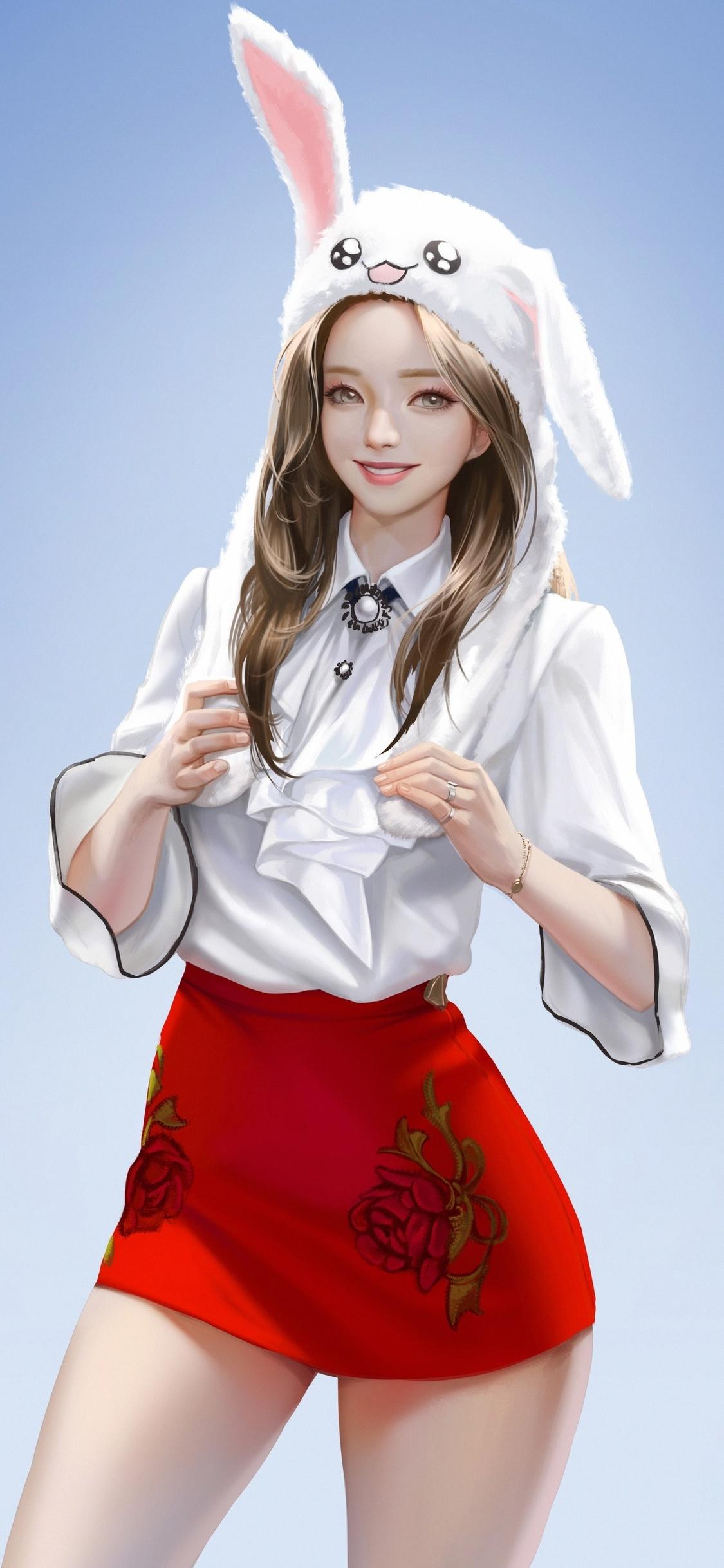 1125x2436 Reisen Udongein Inaba Anime Girl 4k Iphone XS