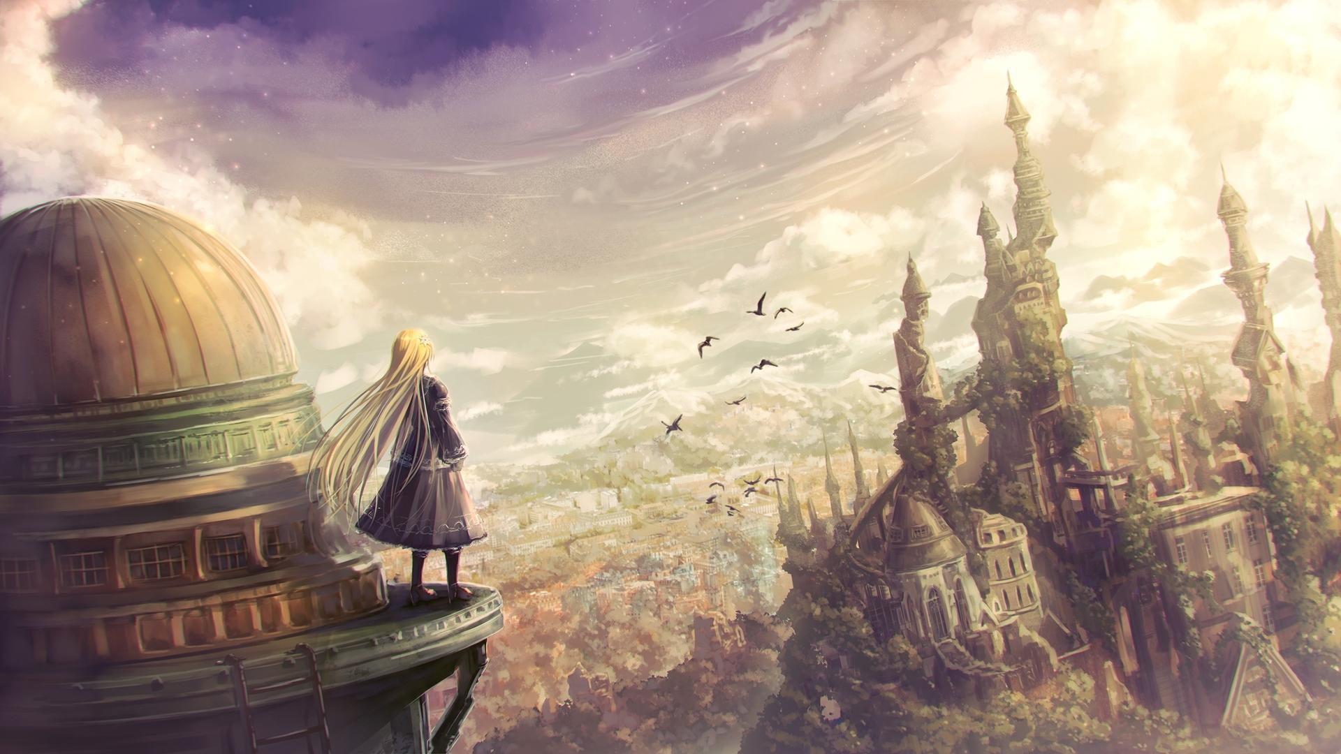 Anime hintergrund 4k