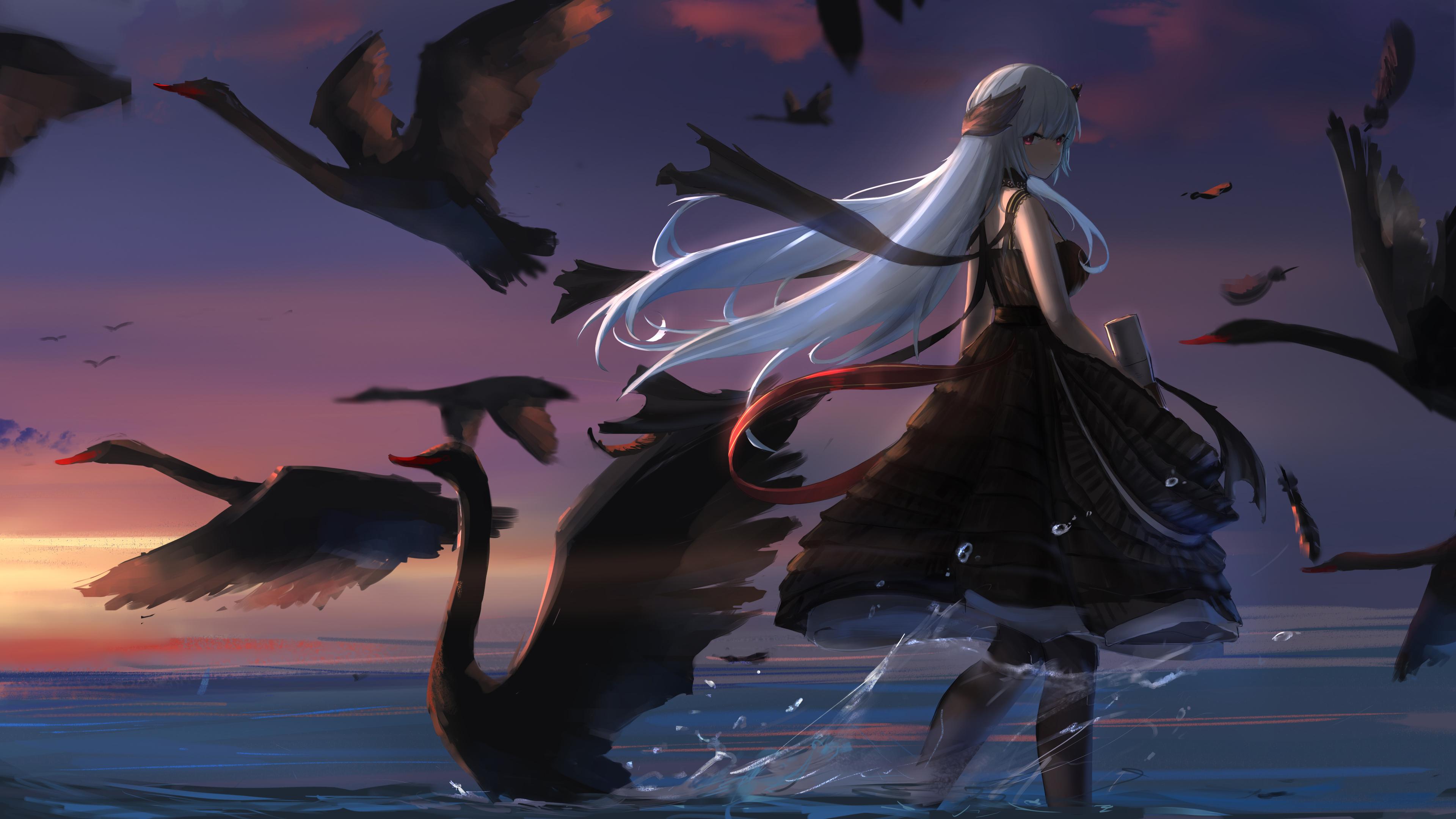 3840x2160 Anime Girl Frontline 4k 4k HD 4k Wallpapers ...