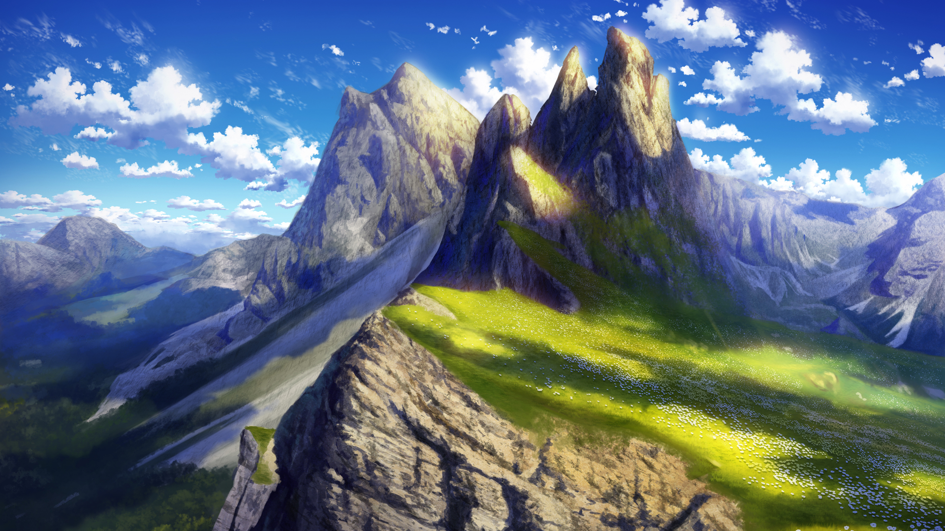 1920x1080 Anime Landscape 4k Laptop Full Hd 1080p Hd 4k Wallpapers