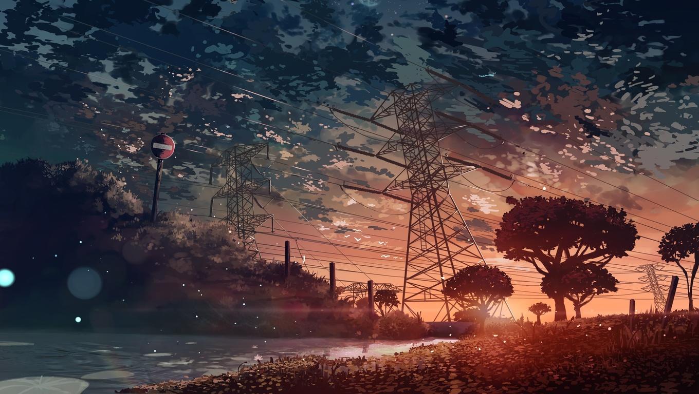 1360x768 anime landscape laptop hd hd 4k wallpapers - Anime wallpaper 1360x768 hd ...