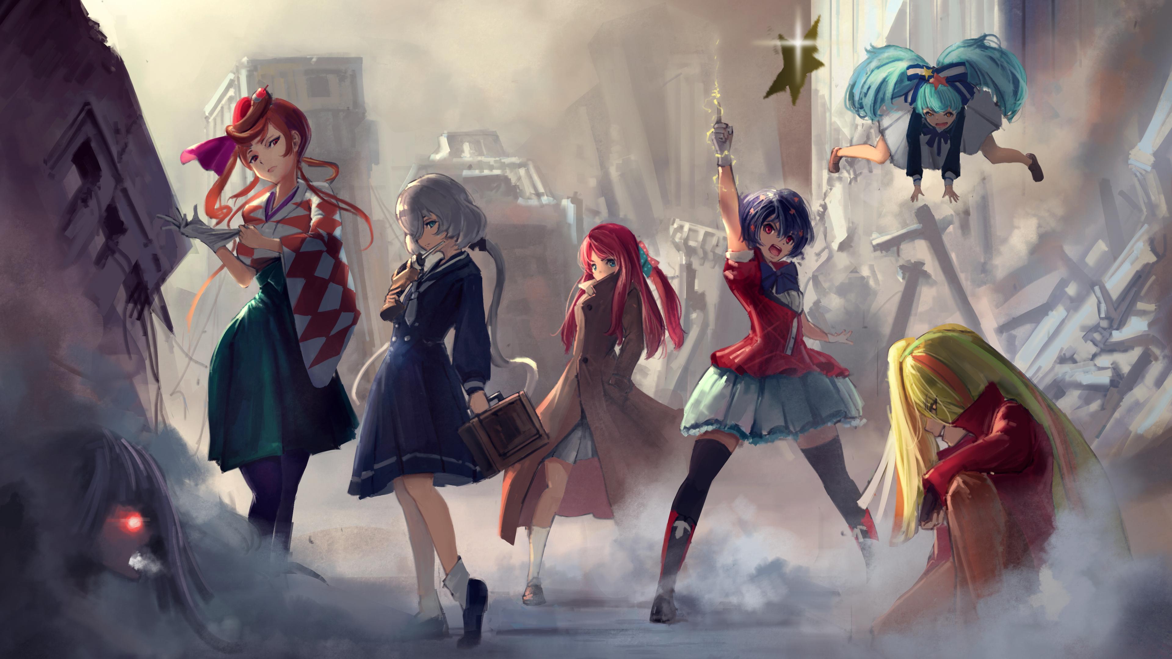 3840x2160 Anime Saga 4k HD 4k Wallpapers, Images ...