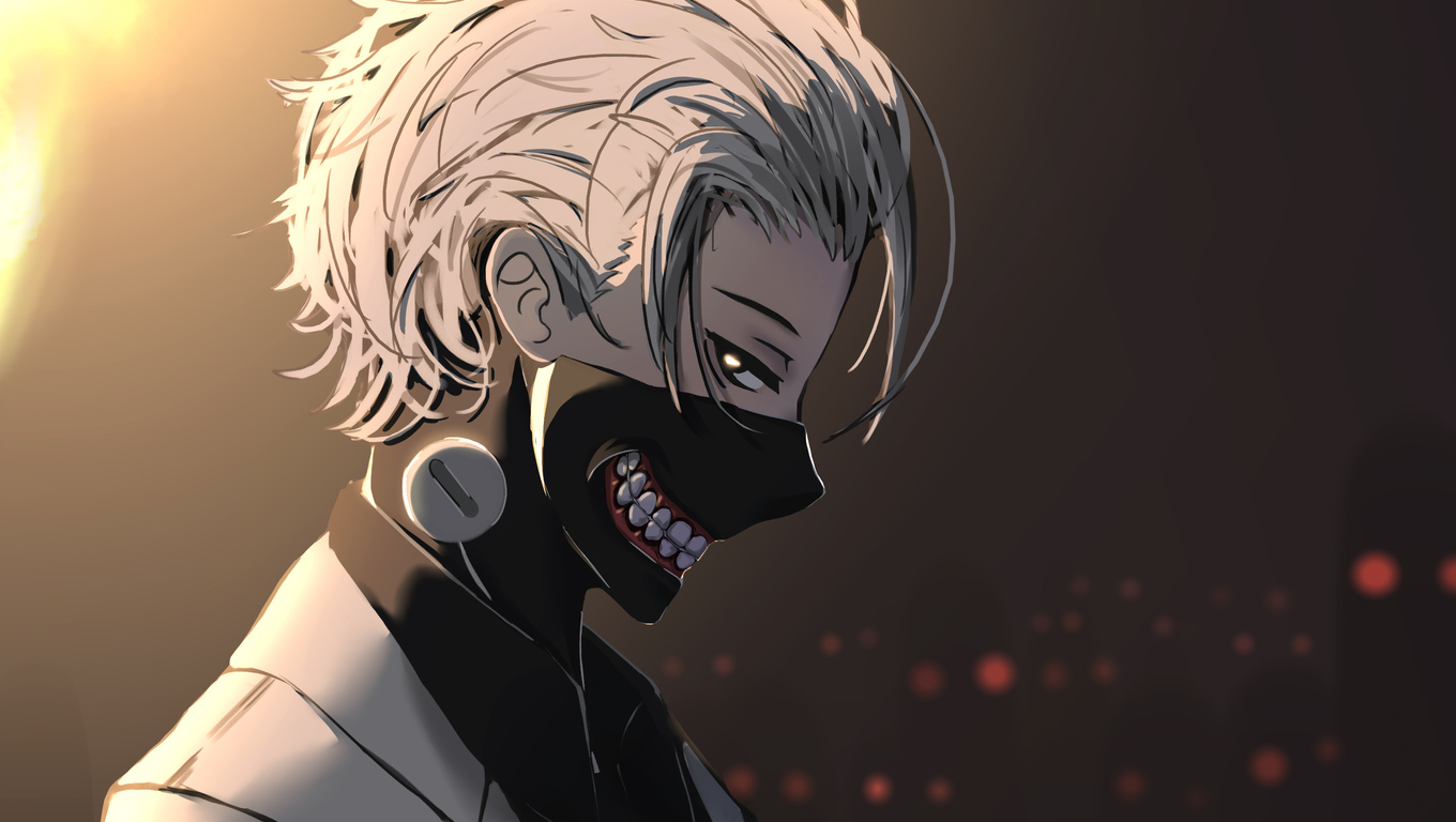 1360x768 Anime Tokyo Ghoul Kaneki Ken Laptop Hd Hd 4k Wallpapers Images Backgrounds Photos And Pictures