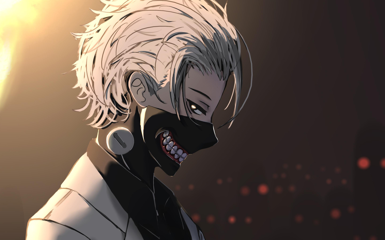 2880x1800 Anime Tokyo Ghoul Kaneki Ken Macbook Pro Retina HD