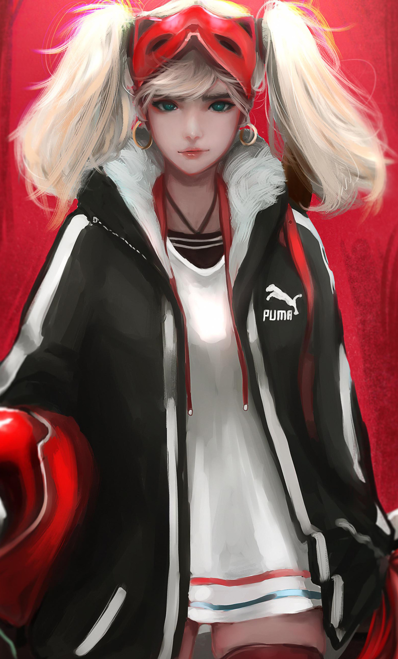 1280x2120 Ann Takamaki Biker Girl Anime 5k Iphone 6 Hd 4k Wallpapers Images Backgrounds Photos And Pictures