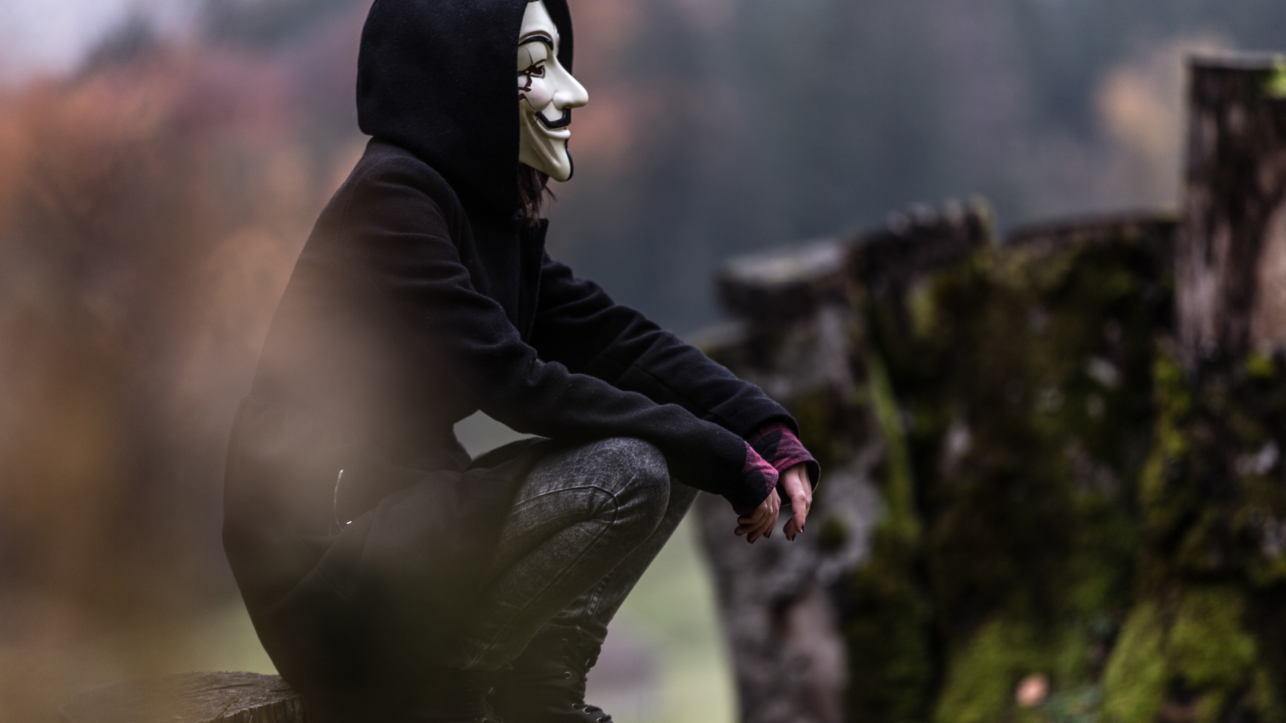 5120x2880 Anonymous Mask Guy 5k HD 4k Wallpapers, Images ...