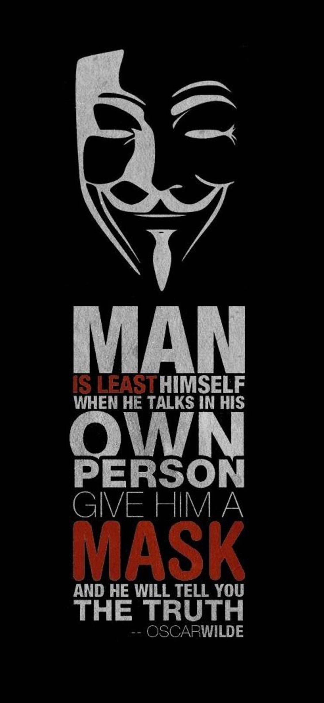 1125x2436 Anonymus Hacker Quote Iphone Xs Iphone 10 Iphone X Hd 4k