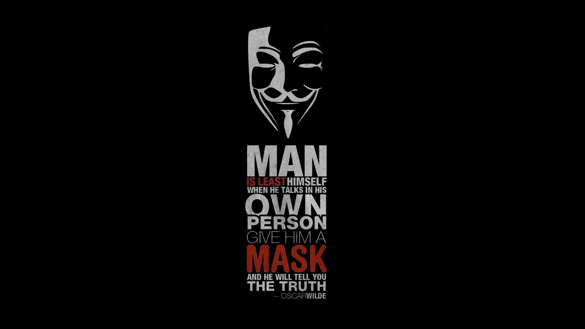 1920x1080 Anonymus Hacker Quote Laptop Full Hd 1080p Hd 4k