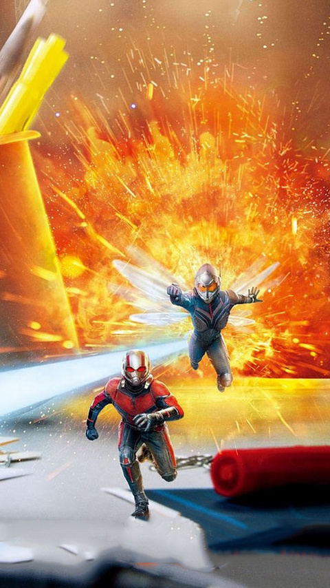 480x854 Ant Man And The Wasp Poster 2018 Android One Hd 4k