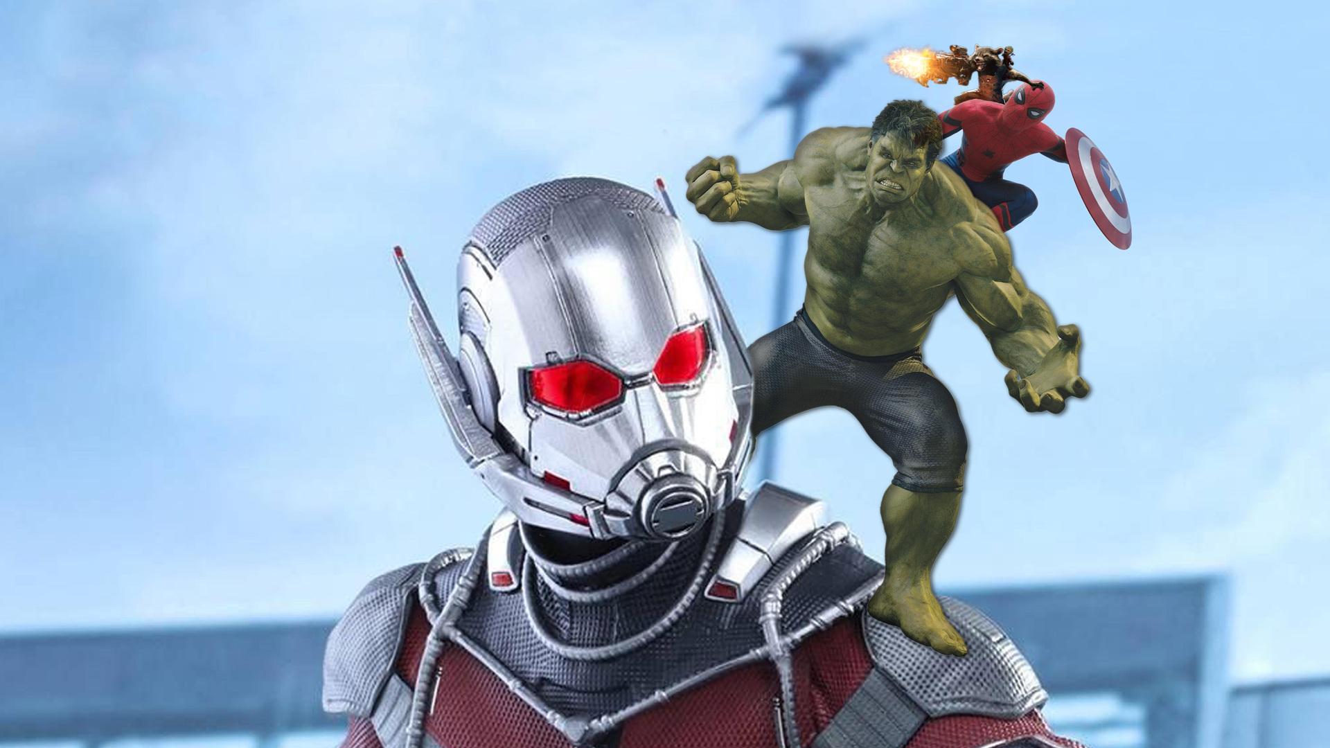 Ant Man Hulk Spiderman Rocket Baby Groot 5k