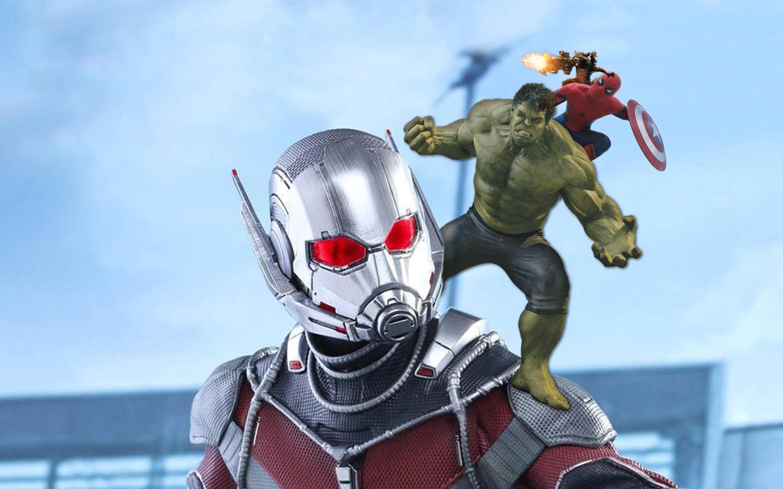 2880x1800 Ant Man Hulk Spiderman Rocket Baby Groot 5k Macbook Pro