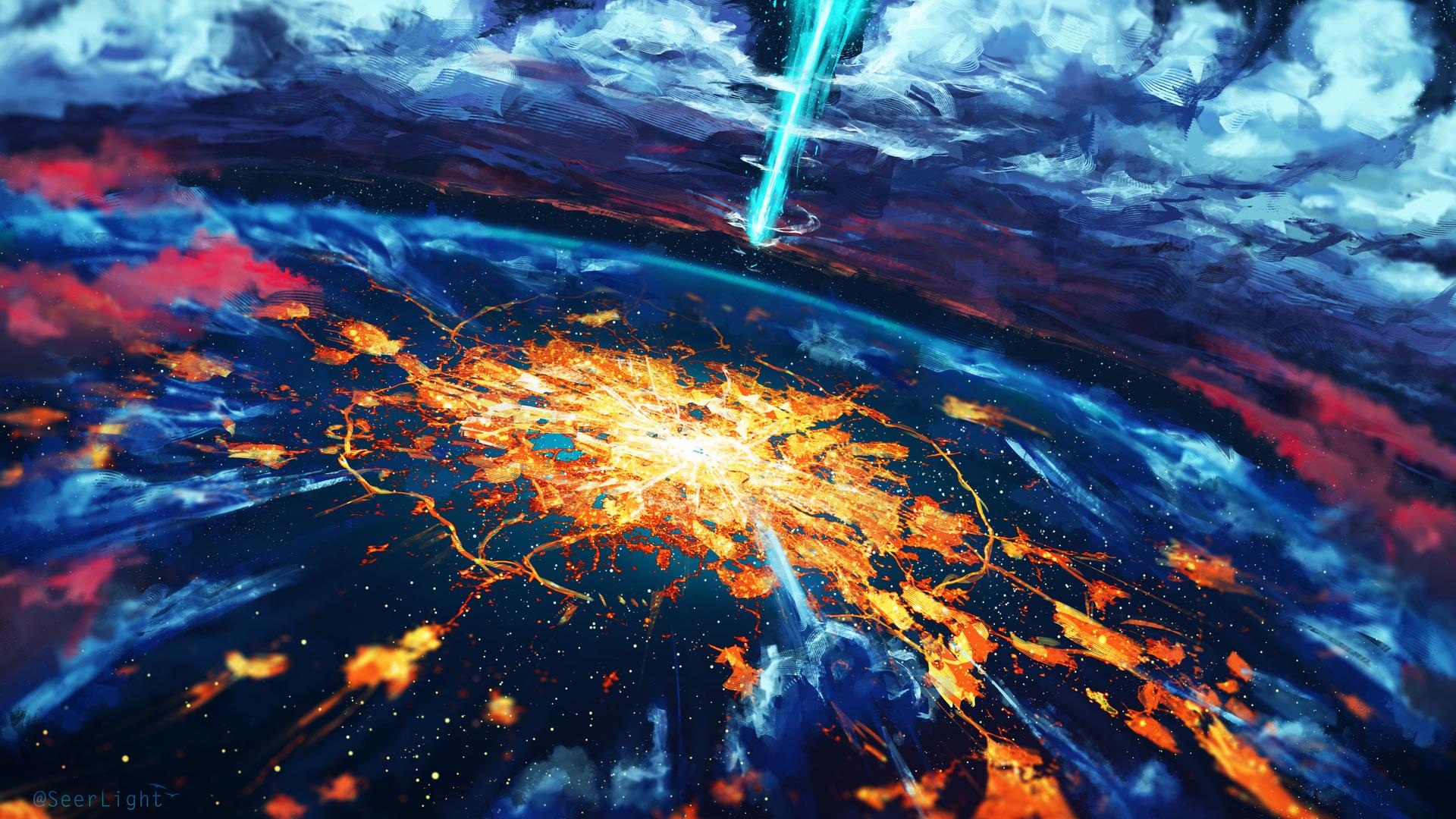 1920x1080 apocalypse cosmos disaster explosion world laptop full hd