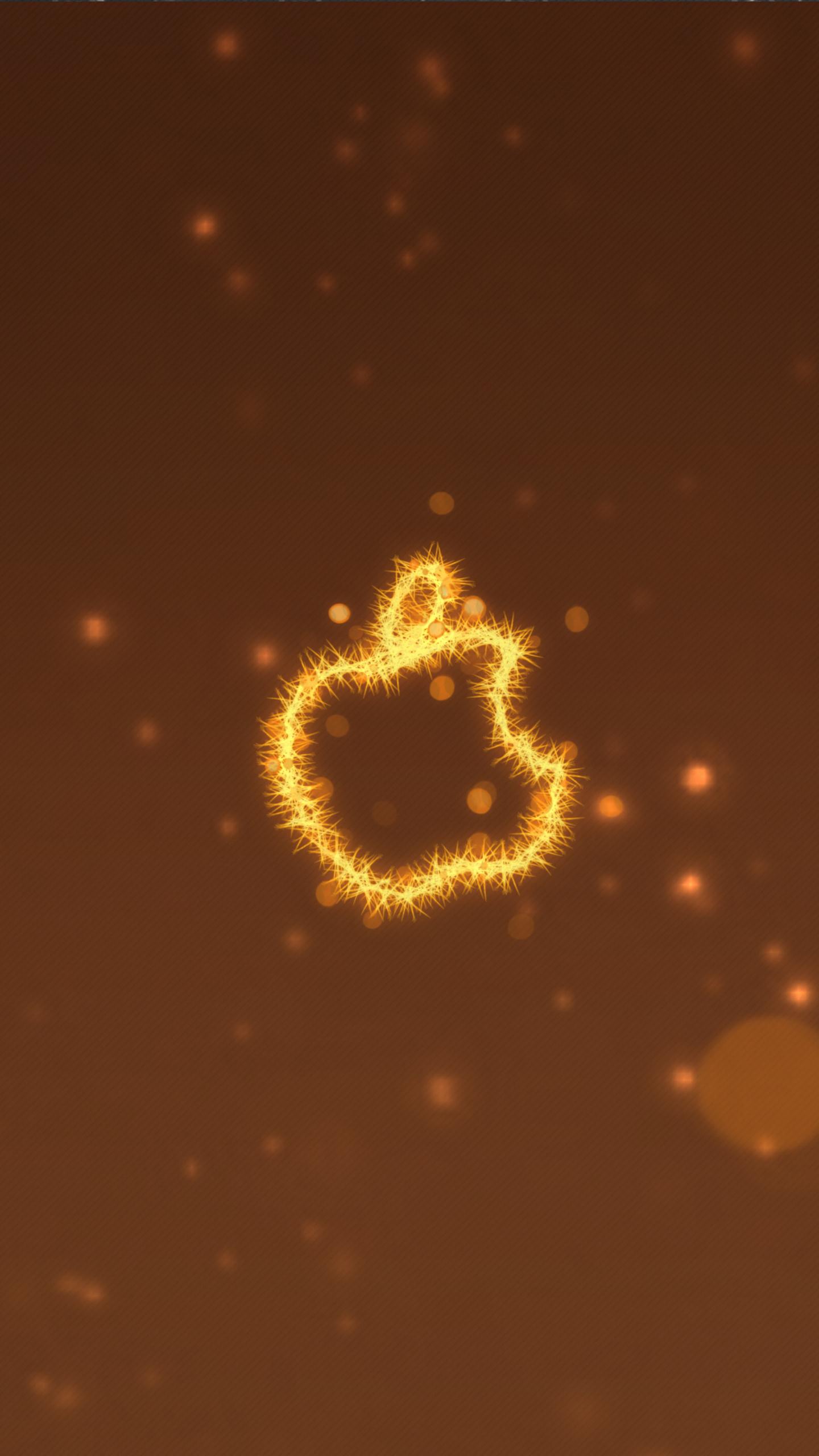 apple logo lighten 4k 8n