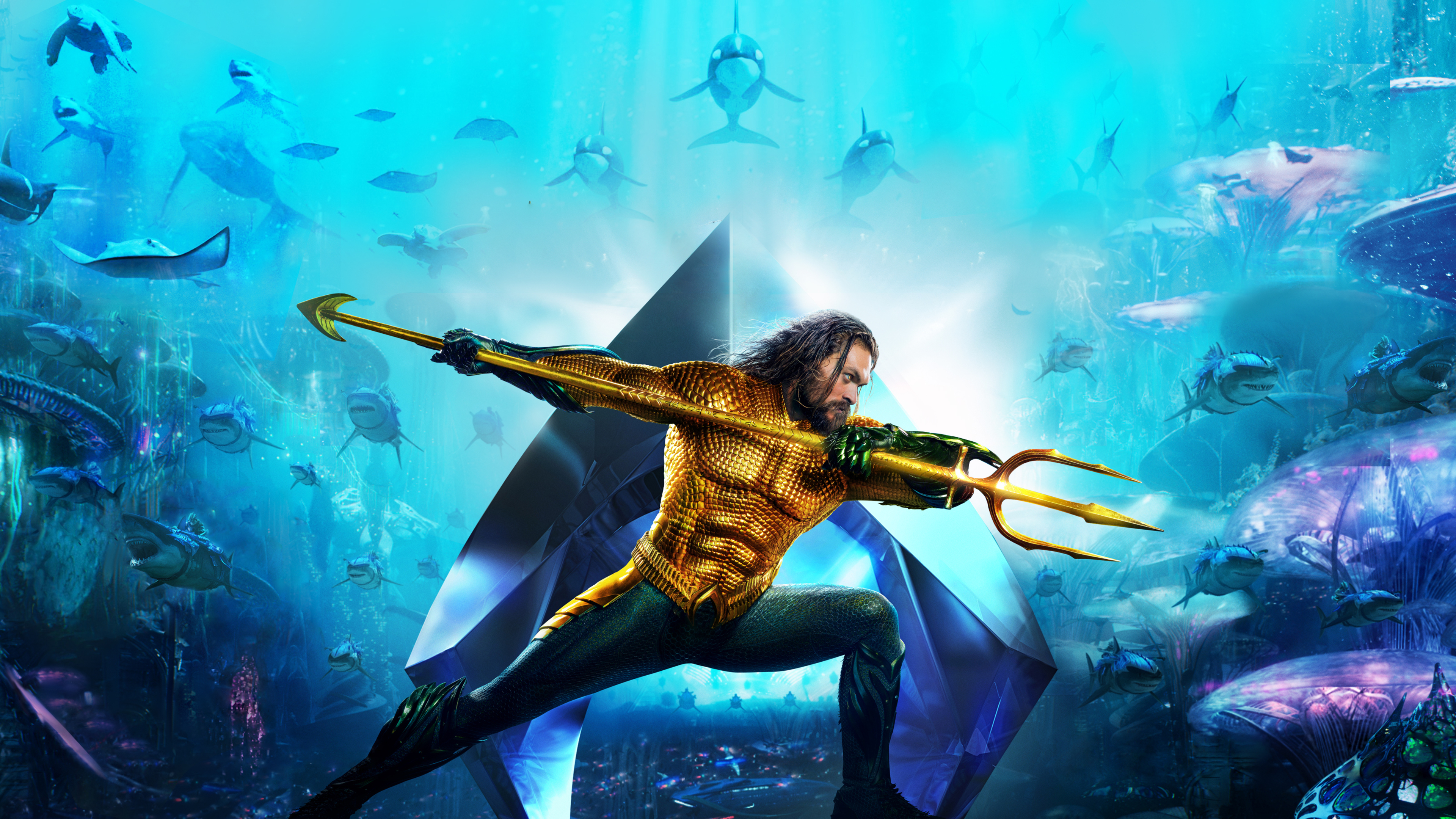 3840x2160 Aquaman Movie New Poster 2018 4k Hd 4k Wallpapers Images
