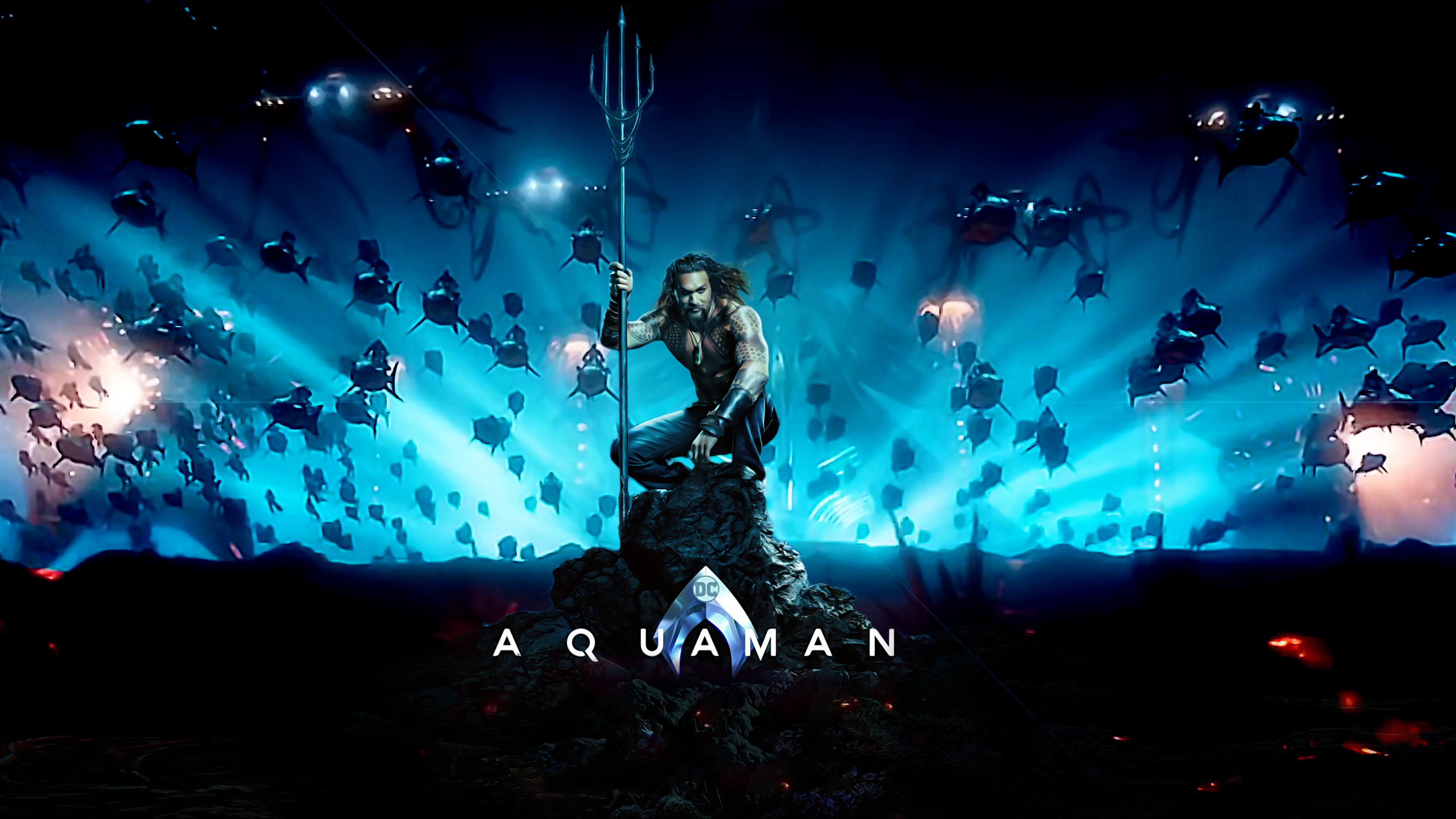 3840x2160 Aquaman Movie Poster 4k Hd 4k Wallpapers Images