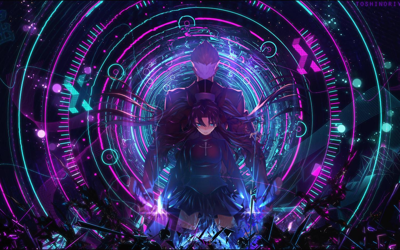 1440x900 Archer Fate Stay Night Rin Tohsaka 1440x900 Resolution Hd