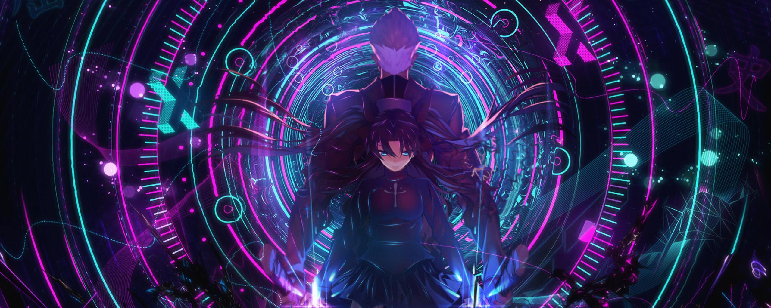 2560x1024 Archer Fate Stay Night Rin Tohsaka 2560x1024 Resolution