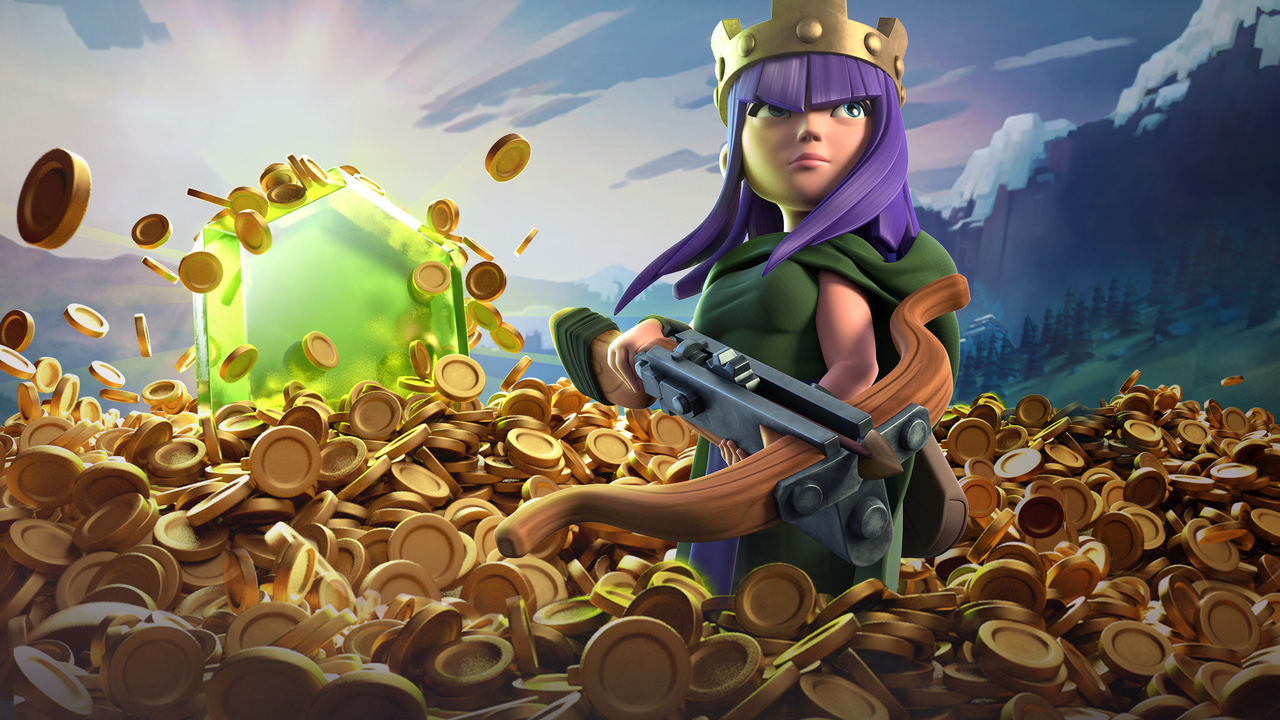 1280x720 Archer Queen Clash Of Clans 720p Hd 4k Wallpapers Images