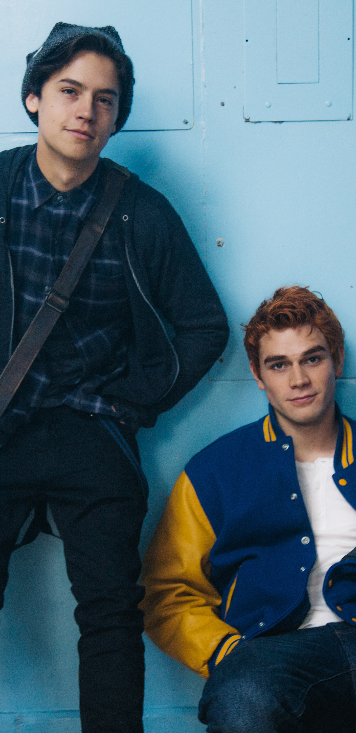 1440x2960 Archie Andrews Kj Apa And Jughead Cole Sprouse Samsung