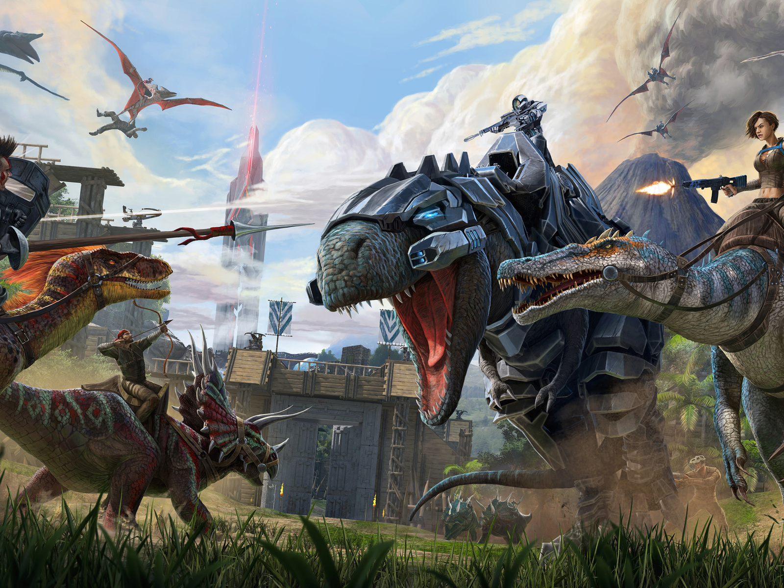 1600x1200 ARK Survival Evolved 1600x1200 Resolution HD 4k Wallpapers, Images, Backgrounds