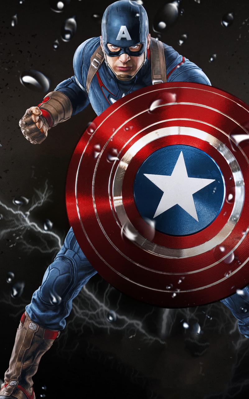800x1280 Art Captain America 4k Nexus 7,Samsung Galaxy Tab ...