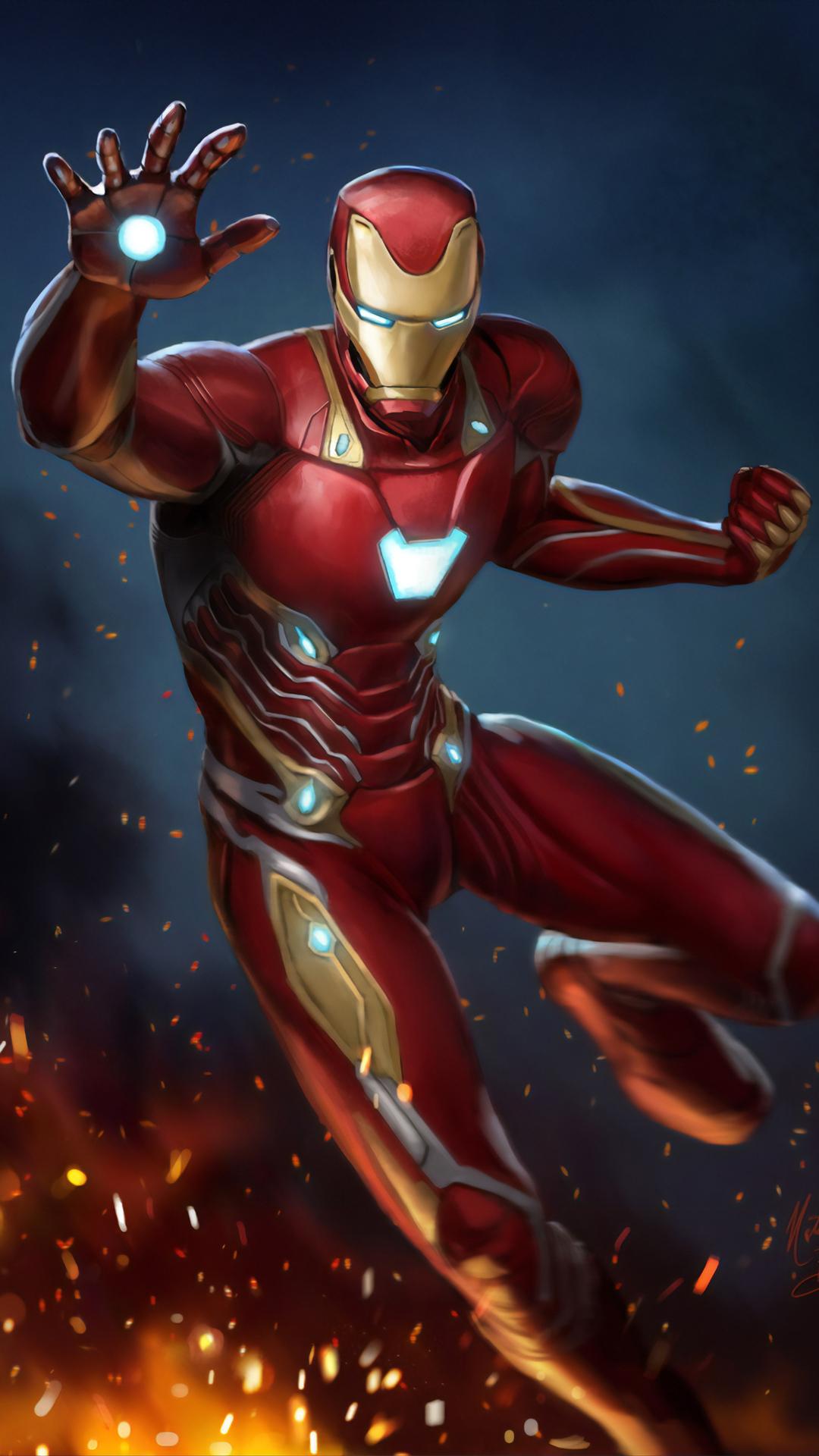 1080x1920 Art Iron Man 2019 Iphone 7,6s,6 Plus, Pixel xl ...