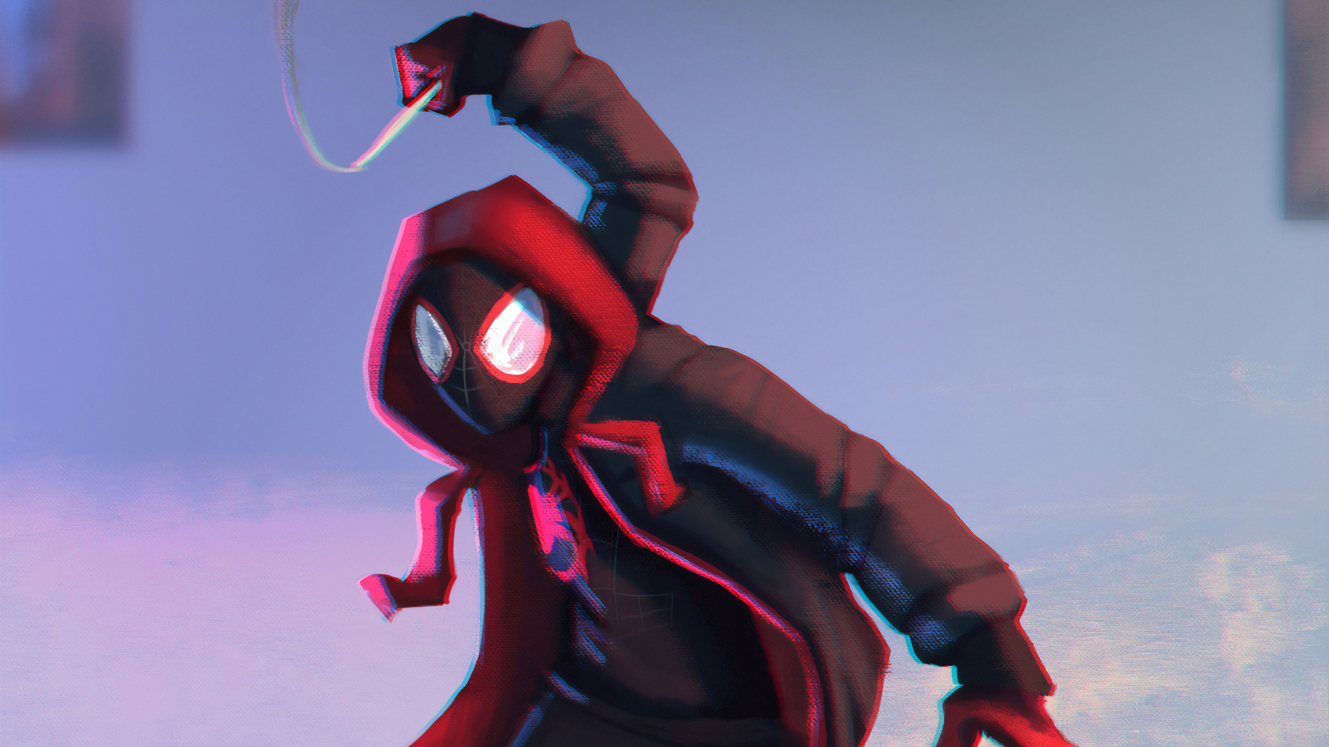 1920x1080 Art Spiderman Miles Morales 4k Laptop Full Hd 1080p Hd