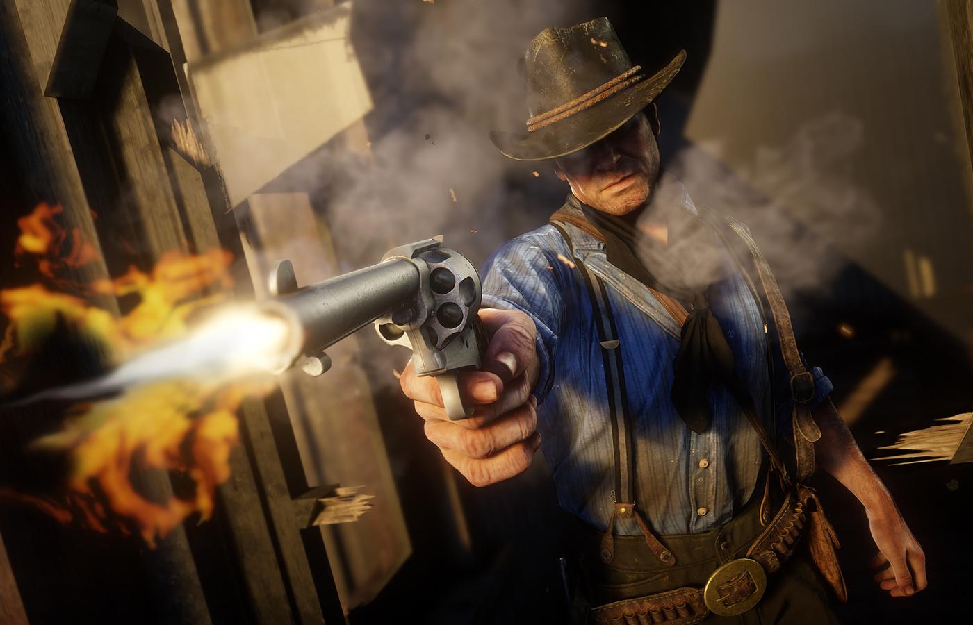 1400x900 Arthur Morgan In Red Dead Redemption 2 1400x900
