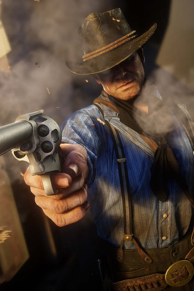 640x960 Arthur Morgan In Red Dead Redemption 2 Iphone 4 Iphone 4s