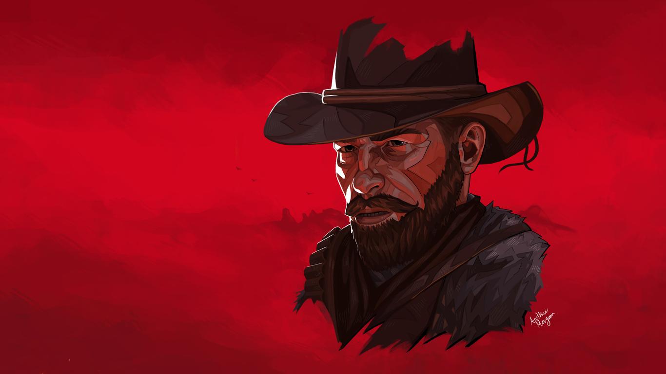 1366x768 Arthur Morgan Red Dead Redemption 2 4k 2019 ...