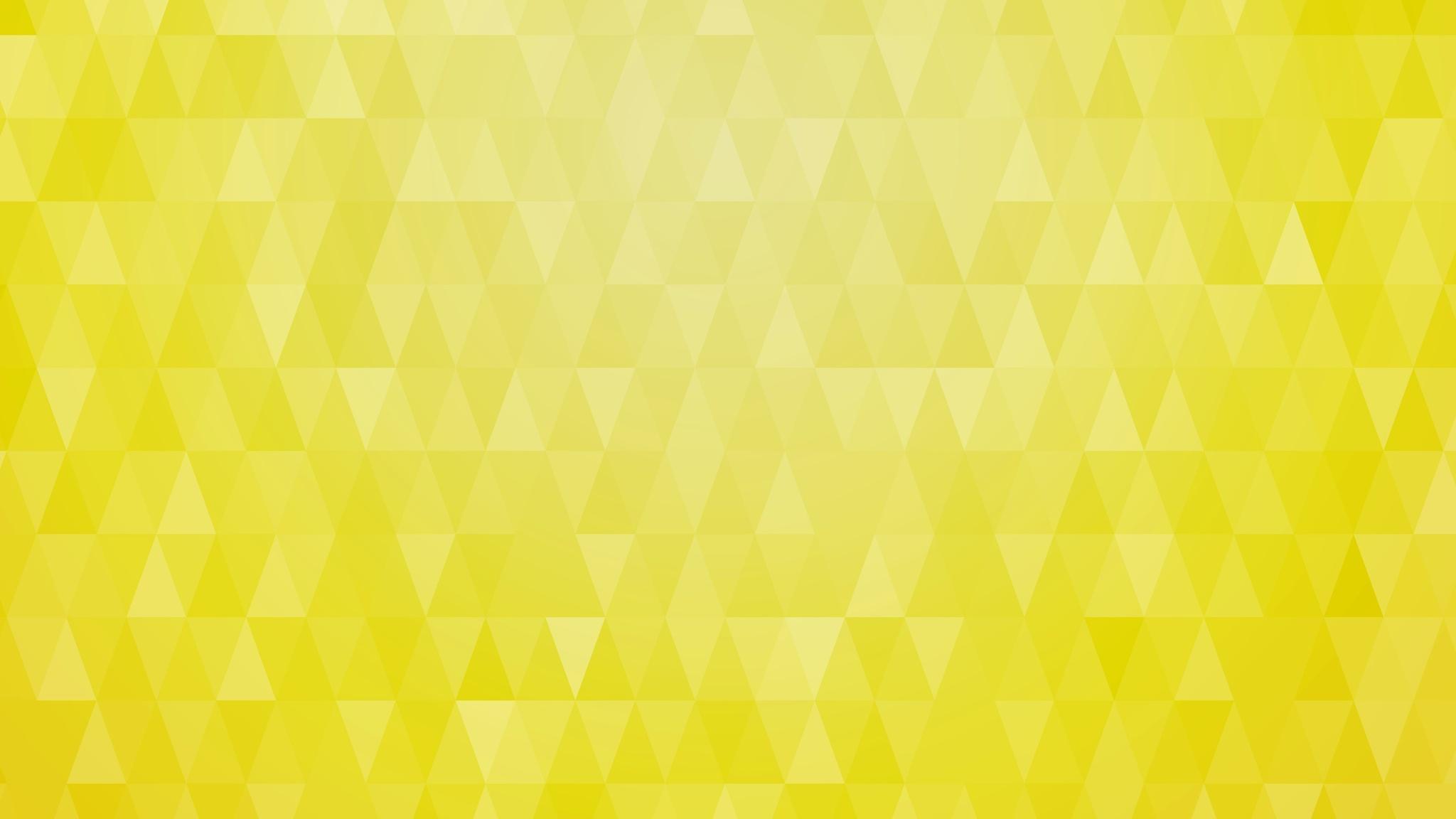2048x1152 artistic pattern triangle yellow 8k 2048x1152 resolution