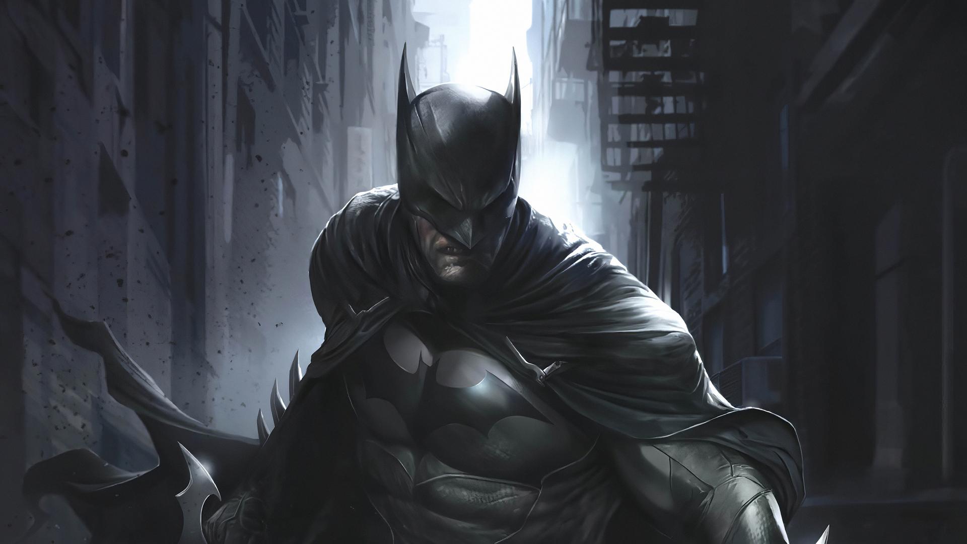 1920x1080 Artwork Batman 4k 2020 Laptop Full HD 1080P HD ...