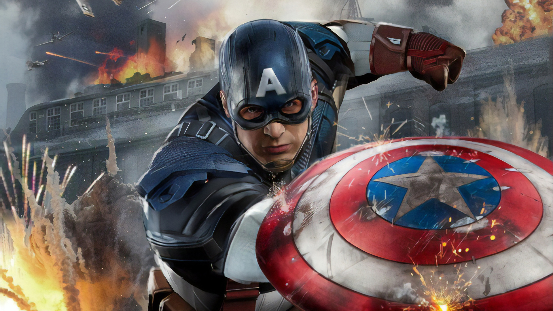 1920x1080 Artwork Captain America New Laptop Full HD 1080P ...