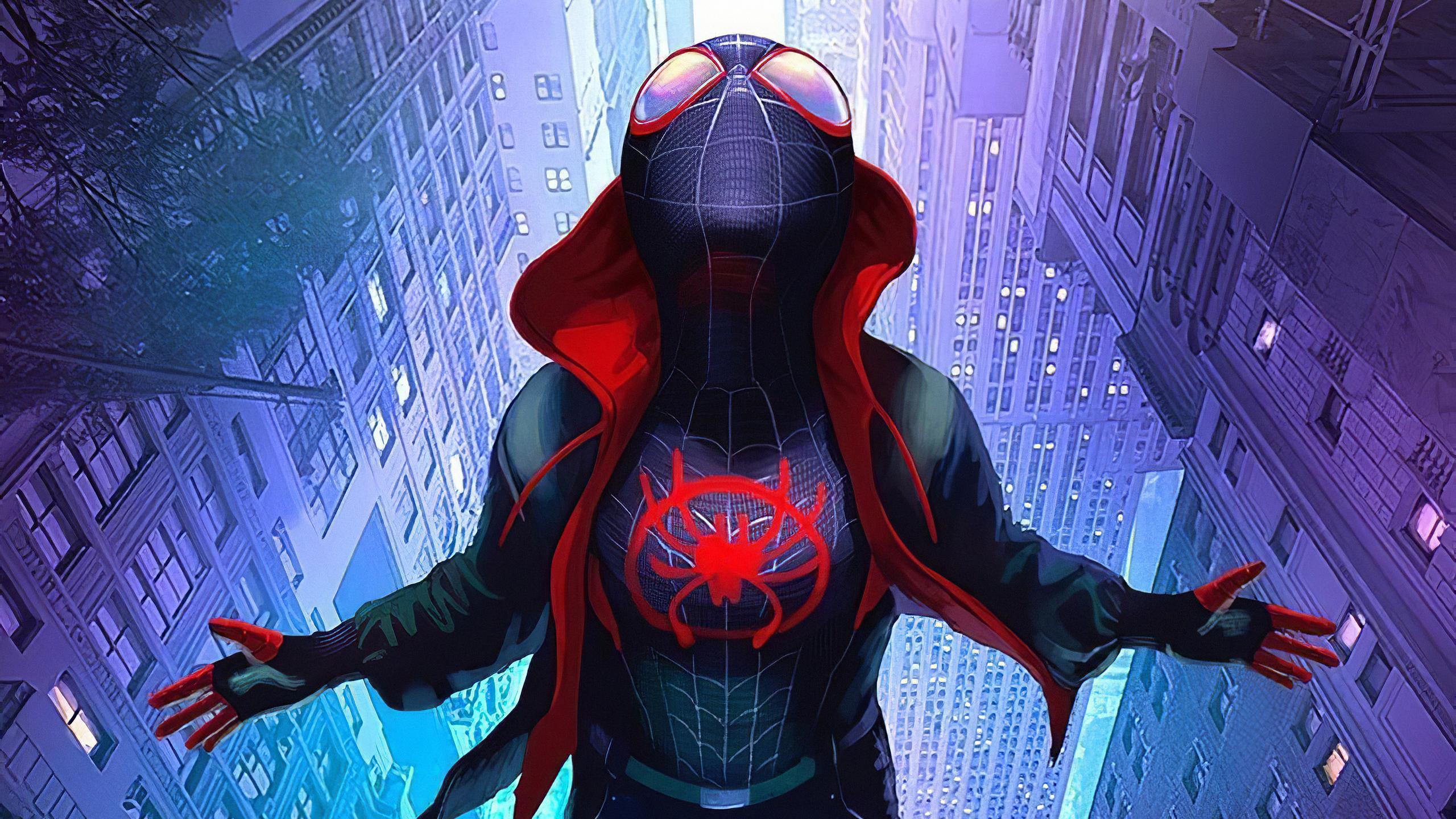 2560x1440 Artwork Spiderman Miles Morales 1440P Resolution ...