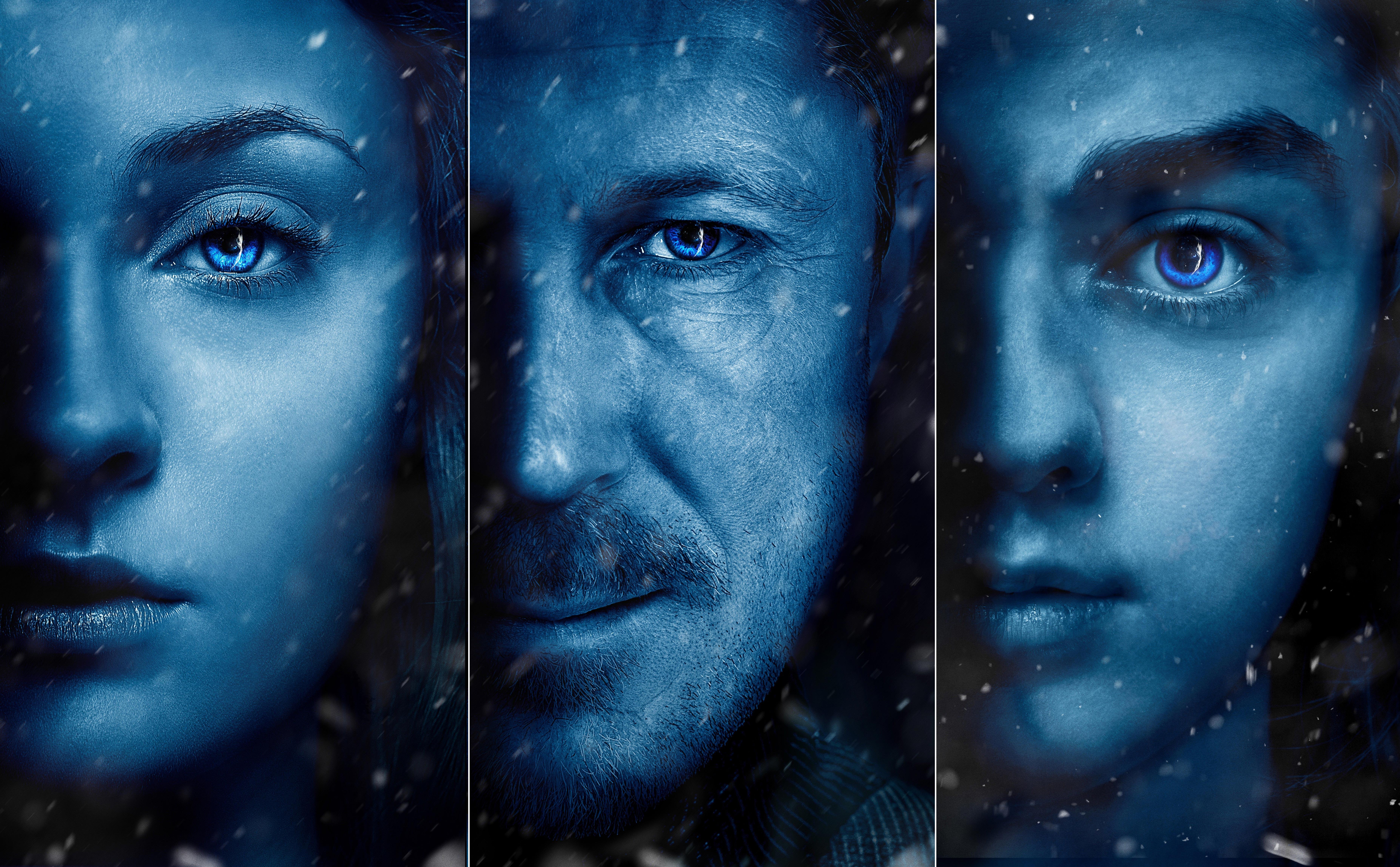 4096x3072 Arya Stark Sansa Stark Petyr