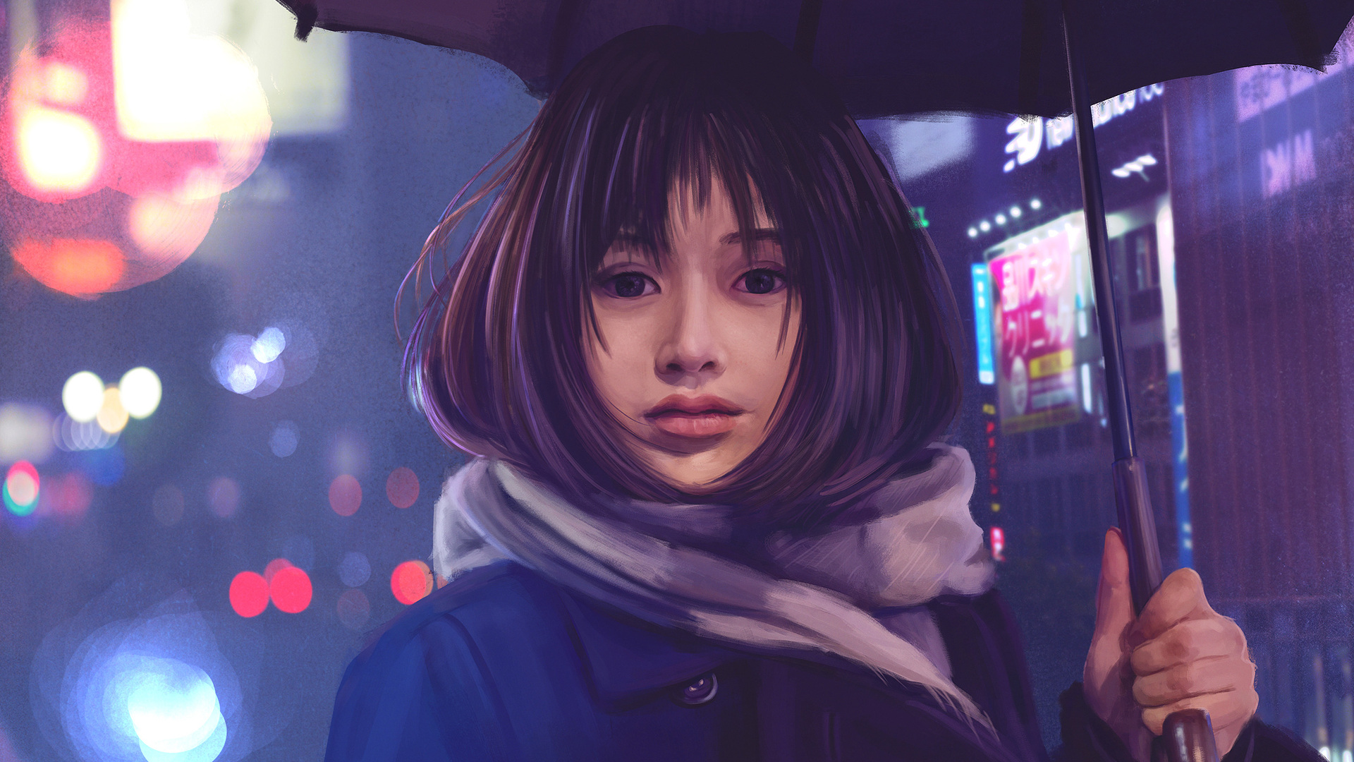 1920x1080 asian girl umbrella hd laptop full hd 1080p hd 4k asian girl umbrella hd vog voltagebd Images