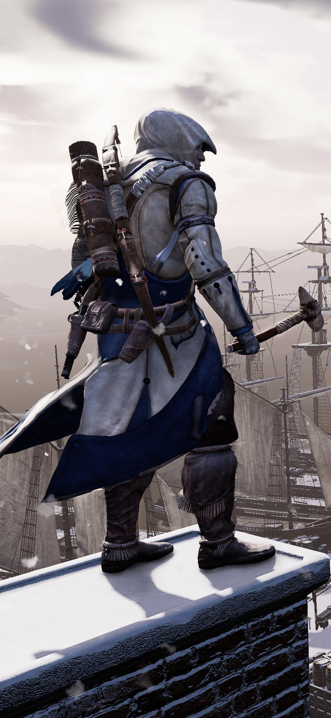 1125x2436 Assassins Creed 3 Remastered 4k Iphone Xs Iphone 10