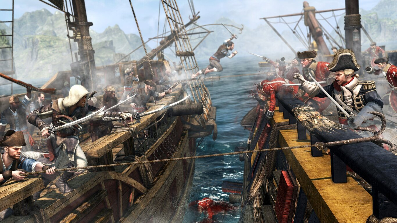 1366x768 Assassins Creed 4 Black Flag Game 1366x768 Resolution Hd