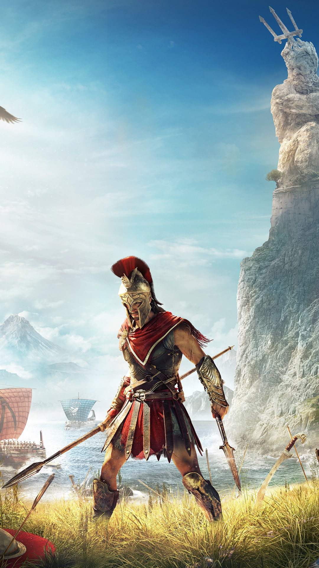 1080x1920 Assassins Creed Odyssey 2018 4k Iphone 7,6s,6 ...