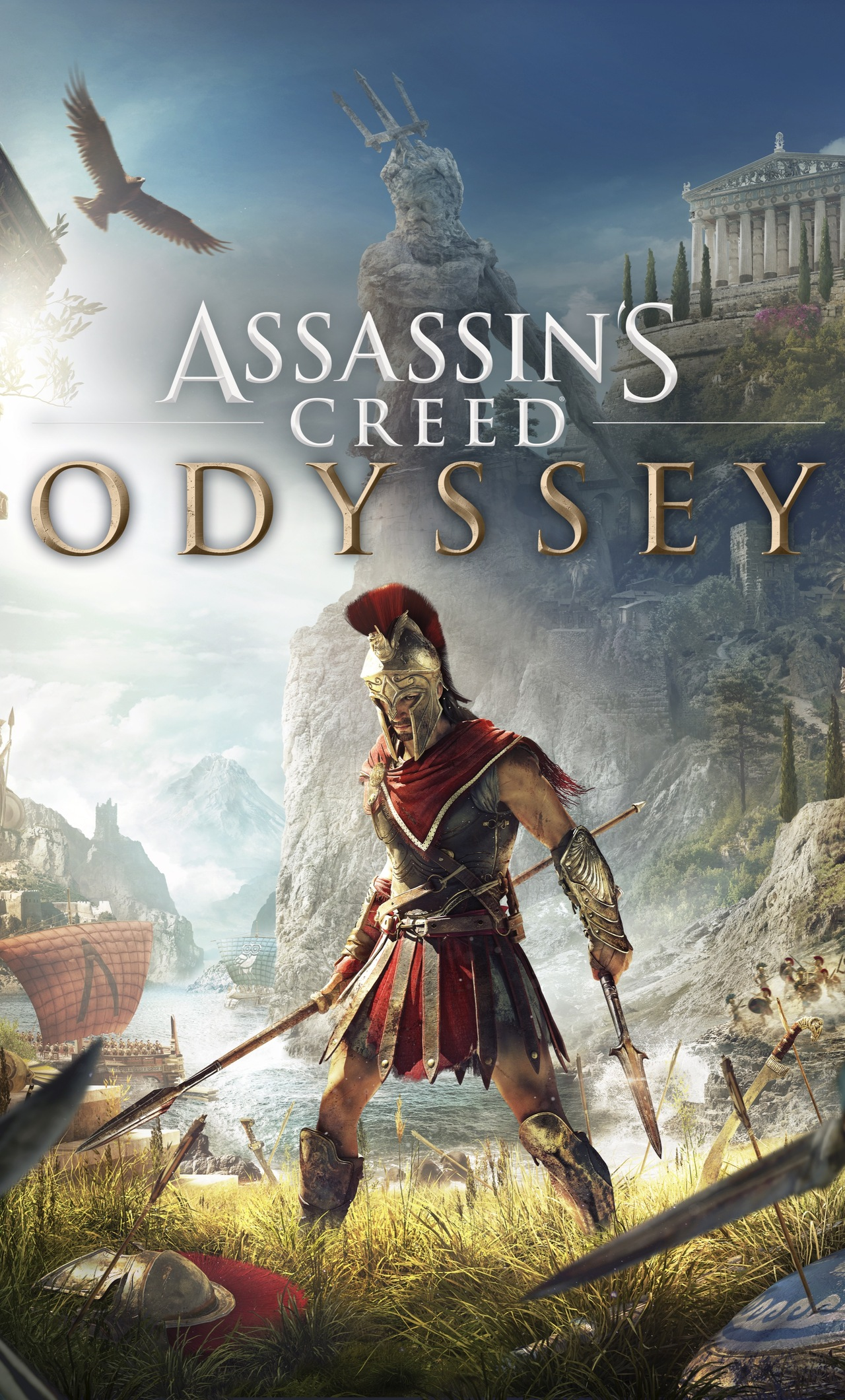 Assassin S Creed Odyssey Game 4k Wallpaper Best Wallpapers 35 Quotes