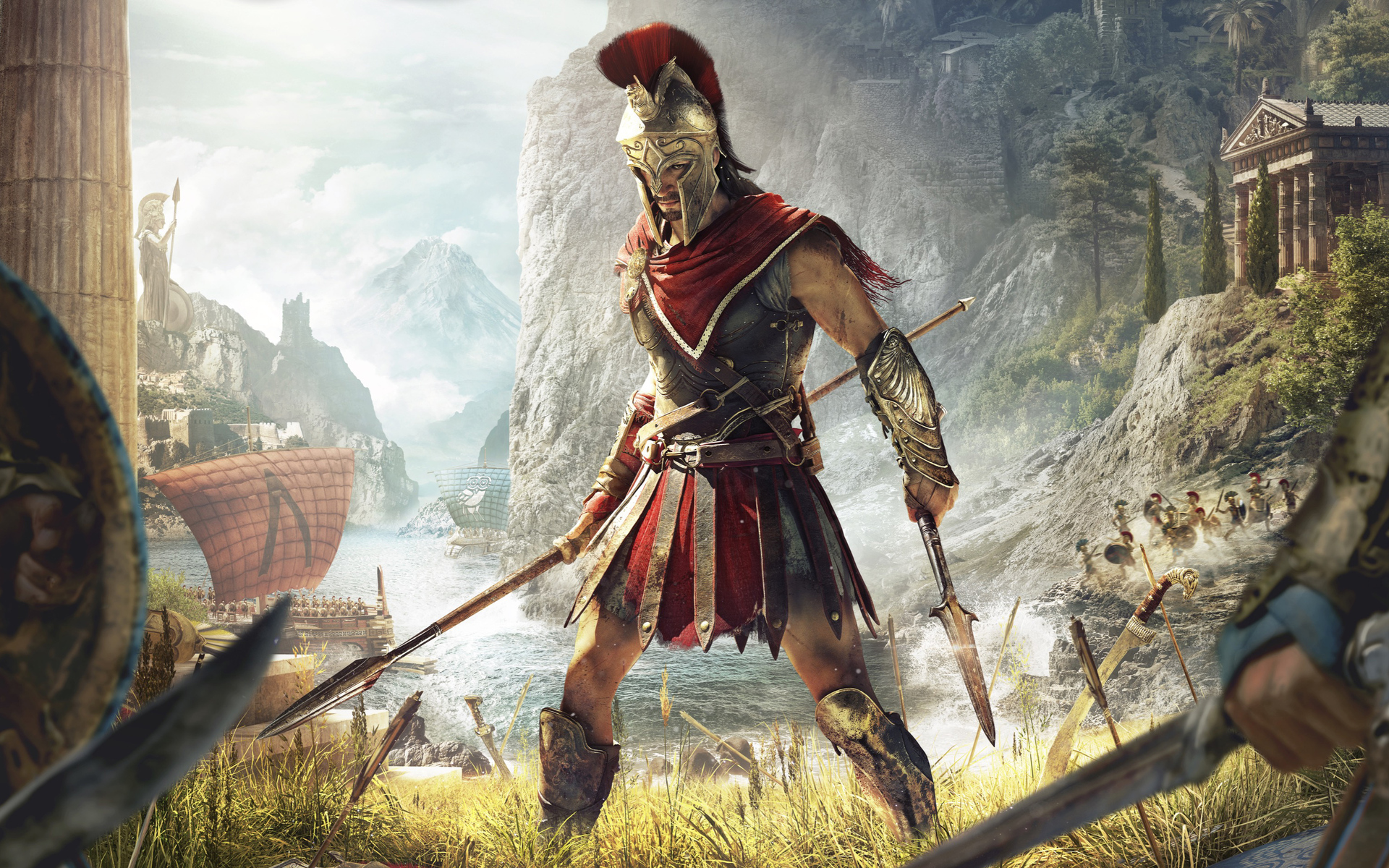 1920x1200 Assassins Creed Odyssey 4k 1080P Resolution HD ...