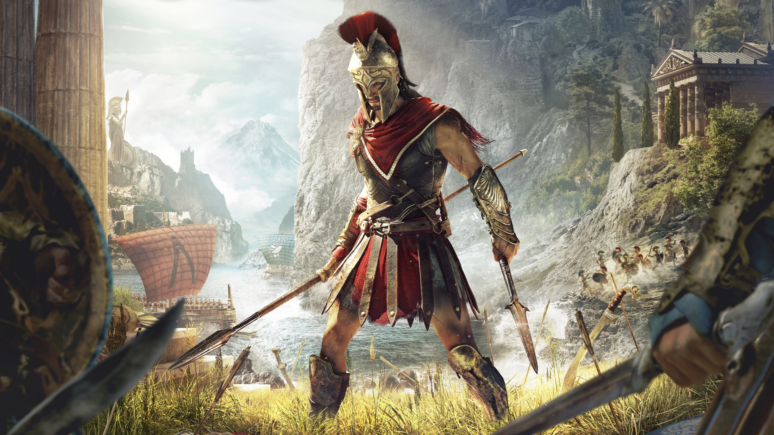 2560x1440 Assassins Creed Odyssey 4k 1440P Resolution HD ...
