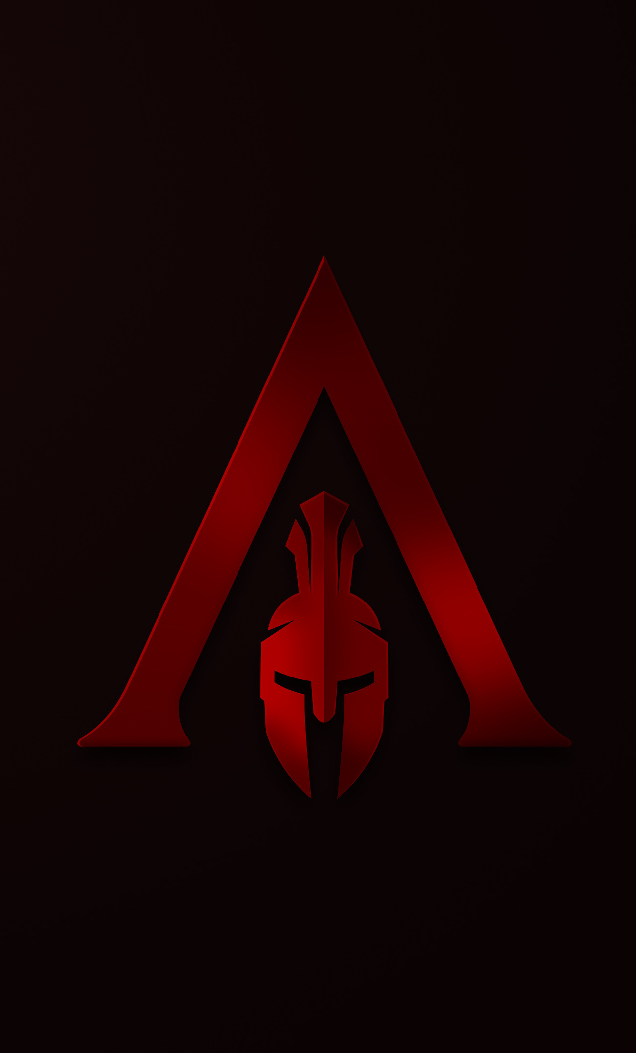 1280x2120 Assassins Creed Odyssey Minimalism Logo 4k Iphone 6 Hd