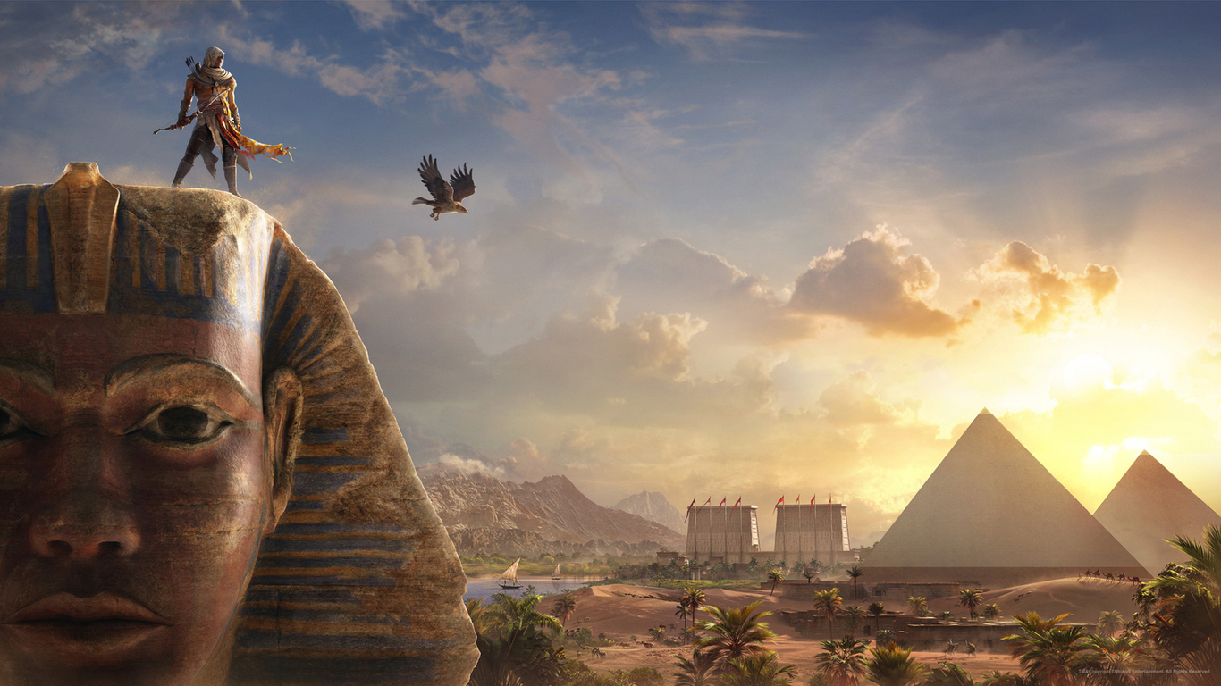 1366x768 assassins creed origins 2017 1366x768 resolution hd 4k