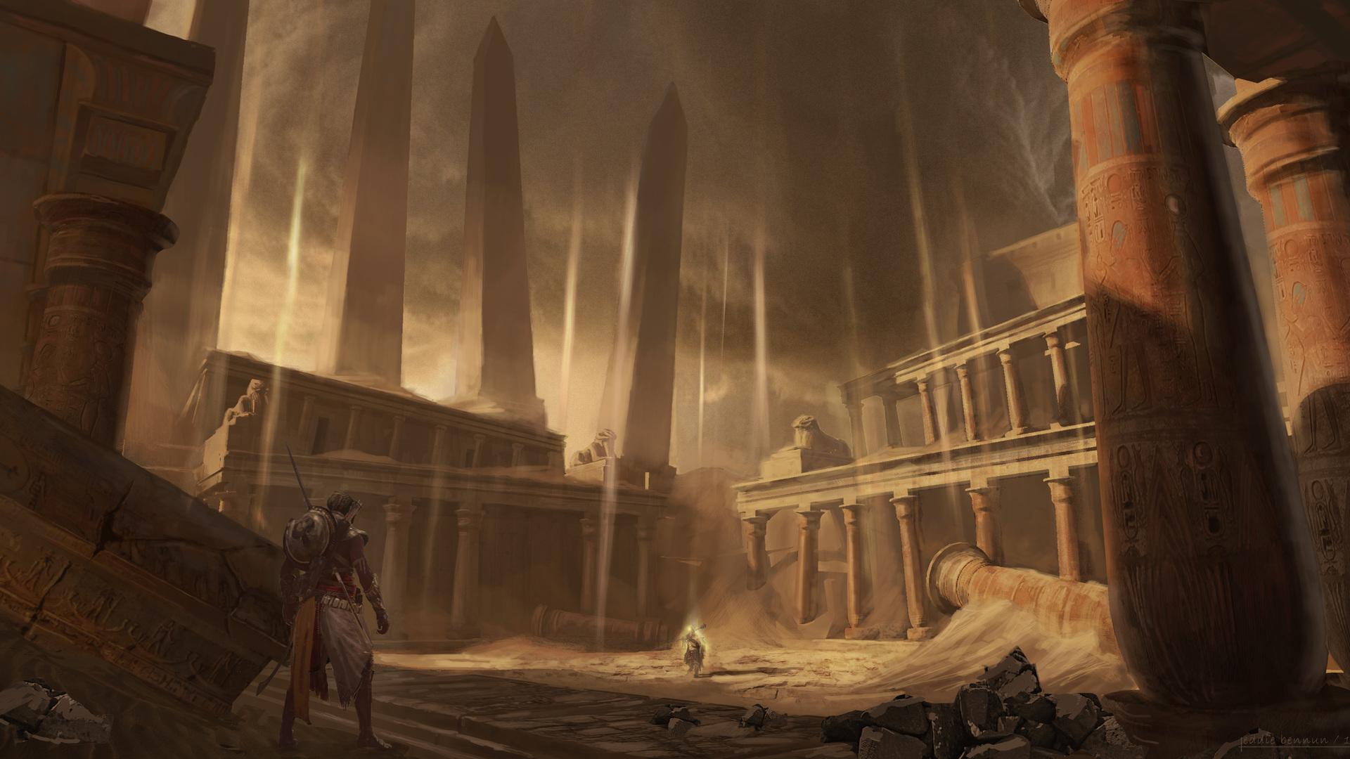assassins creed origins concept art 1920x1080